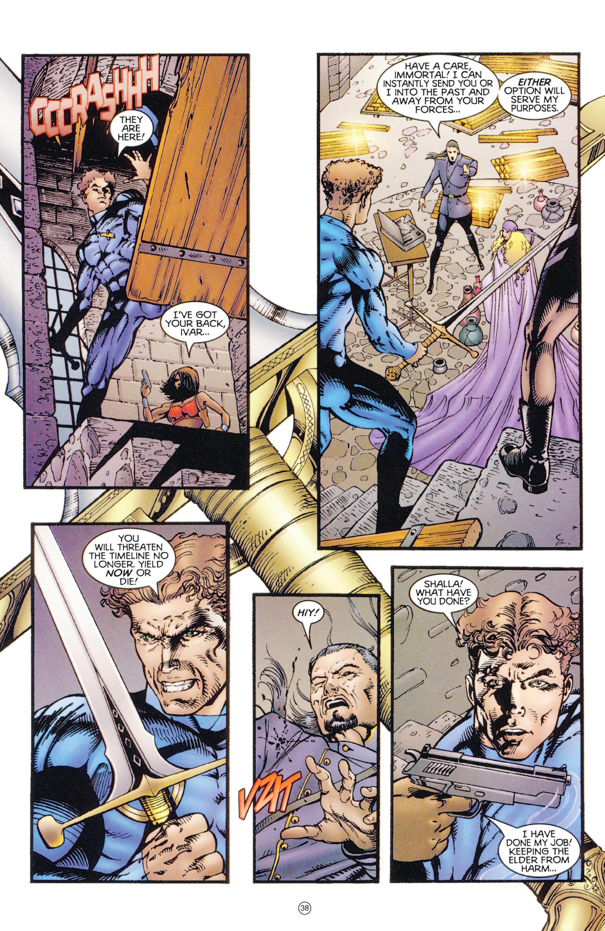 Read online Eternal Warriors comic -  Issue # Issue Digital Alchemy - 35