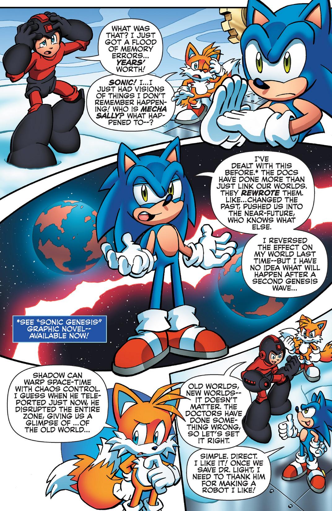 Read online Sonic Mega Man Worlds Collide comic -  Issue # Vol 2 - 68