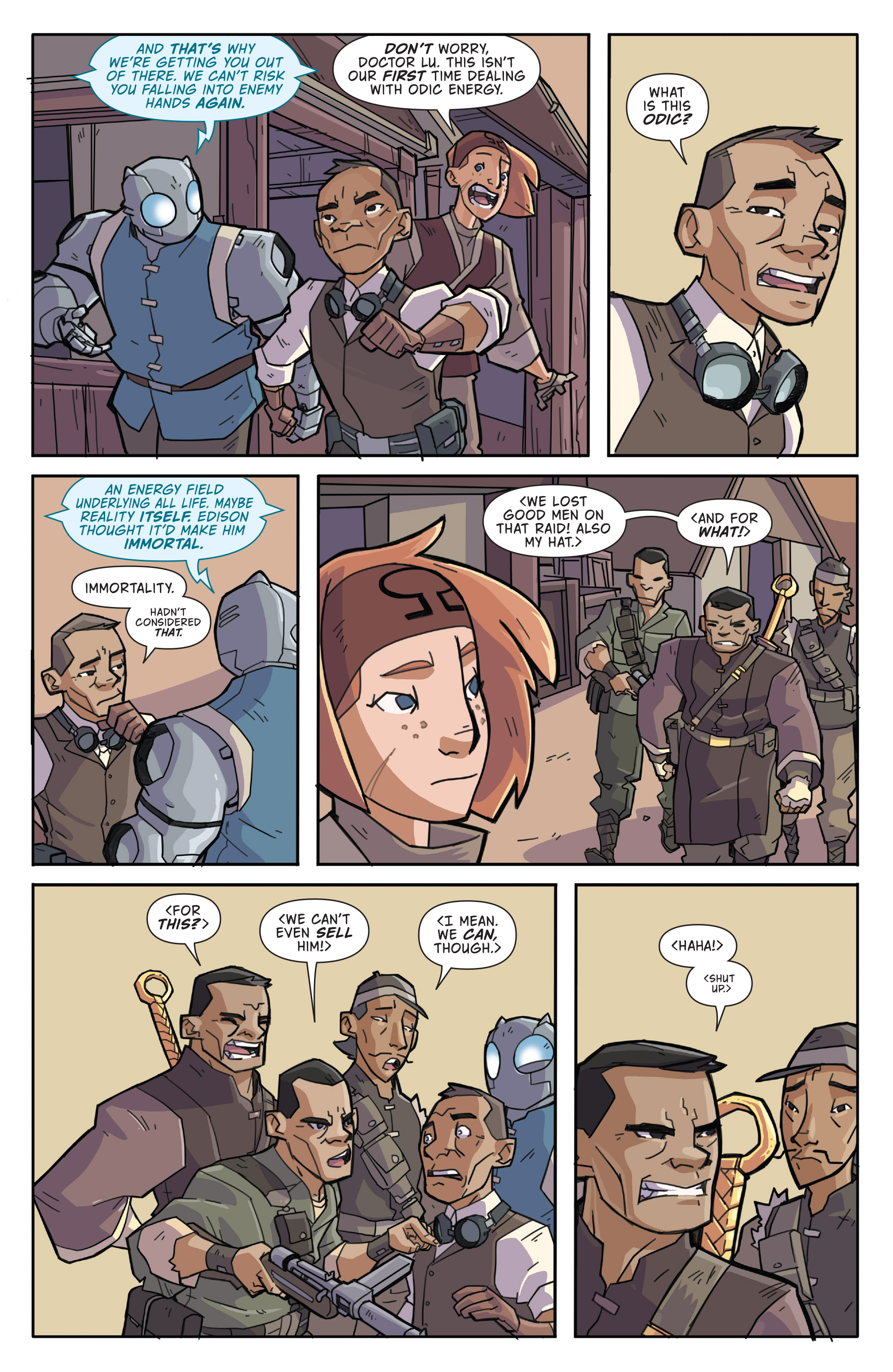 Read online Atomic Robo and the Temple of Od comic -  Issue #3 - 8