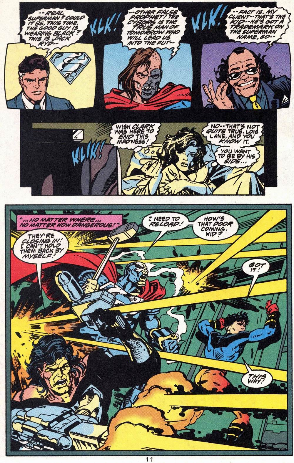 Read online Adventures of Superman (1987) comic -  Issue #504 - 12