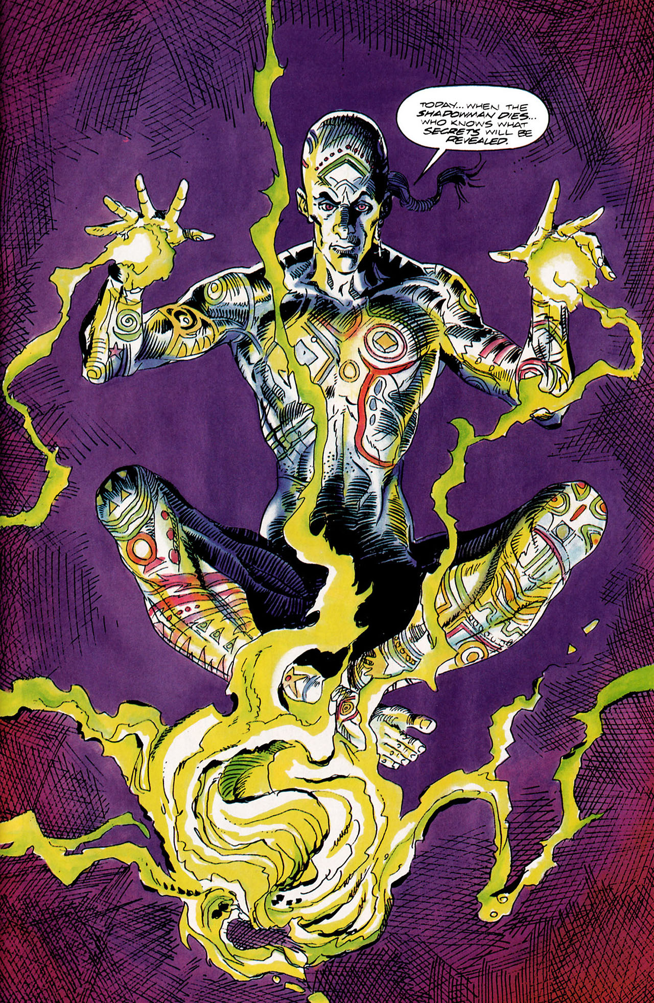 Read online Shadowman (1992) comic -  Issue #10 - 9