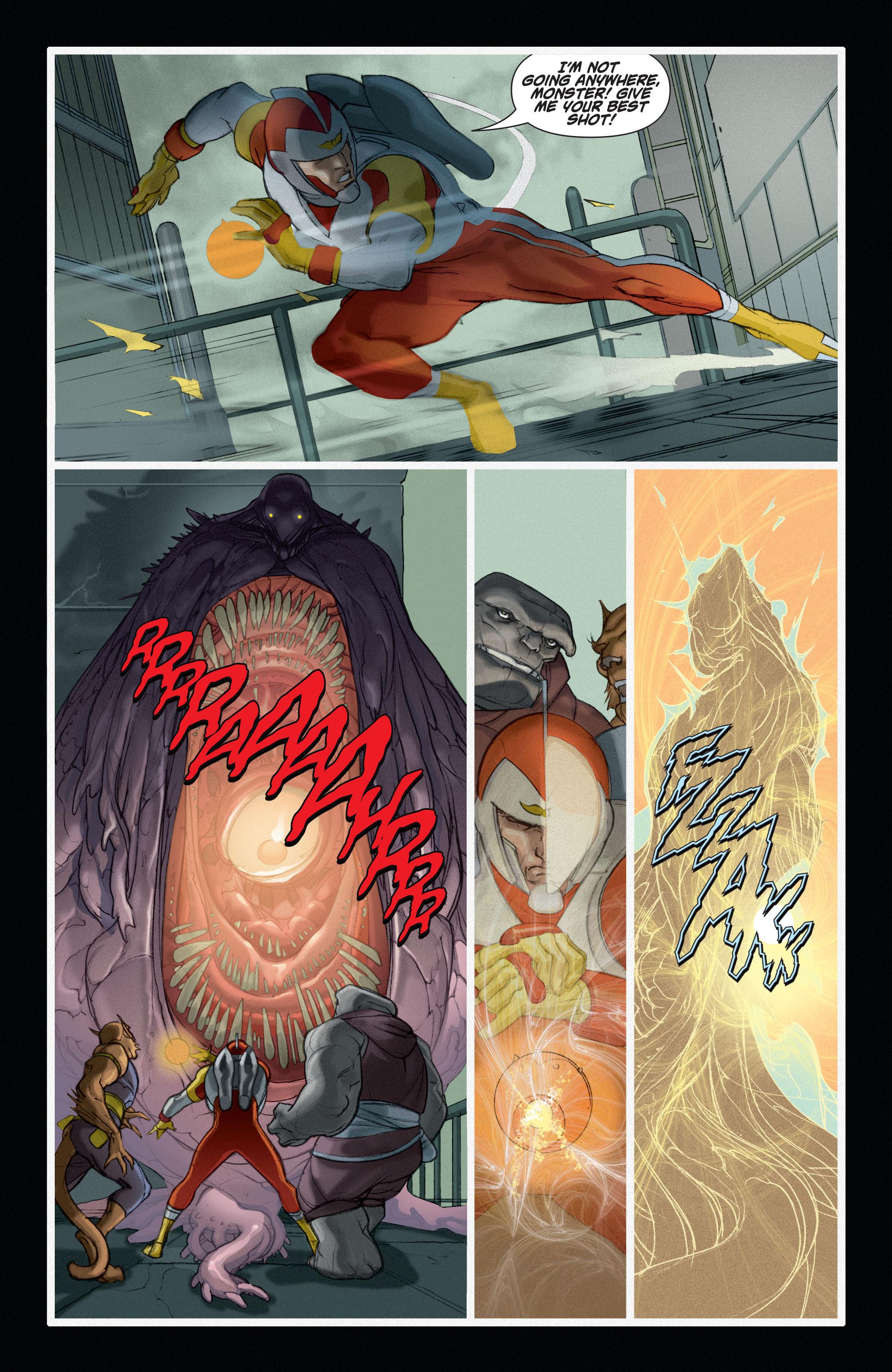 Read online Adam Strange (2004) comic -  Issue #6 - 10