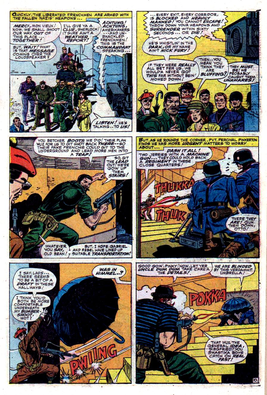 Read online Sgt. Fury comic -  Issue #40 - 15