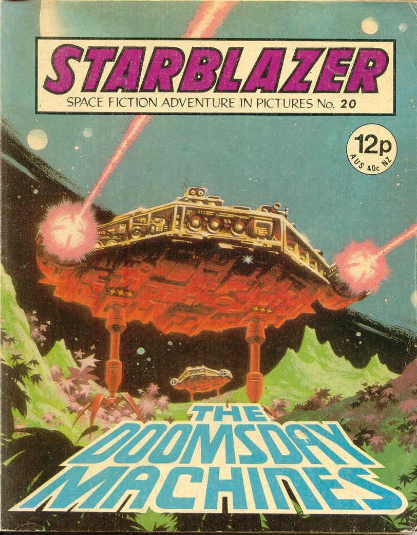 Starblazer issue 20 - Page 1