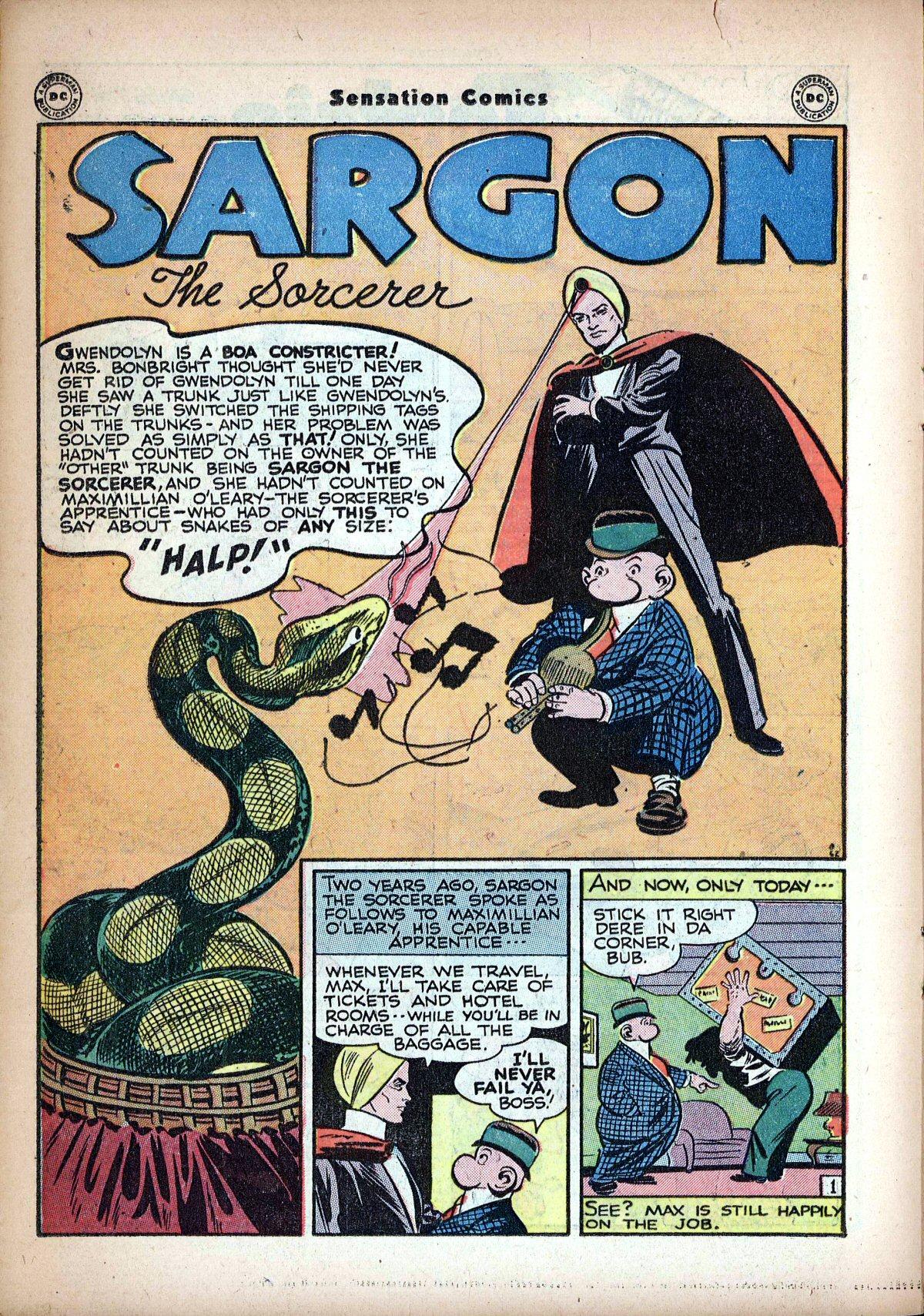 Read online Sensation (Mystery) Comics comic -  Issue #62 - 24