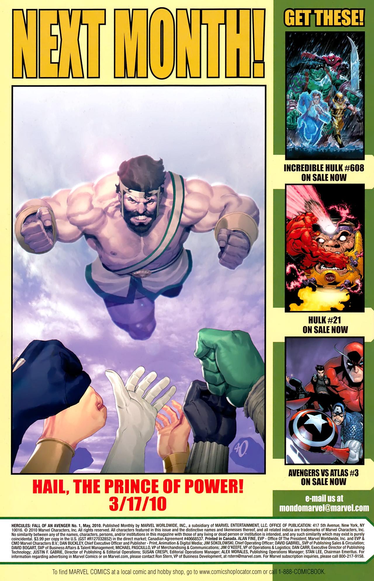 Read online Hercules: Fall of an Avenger comic -  Issue #1 - 32
