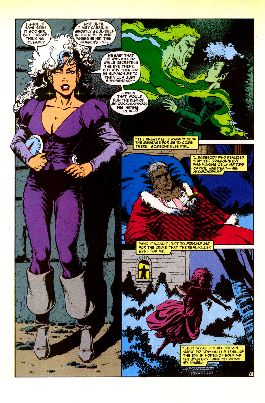 Read online Advanced Dungeons & Dragons comic -  Issue #30 - 8