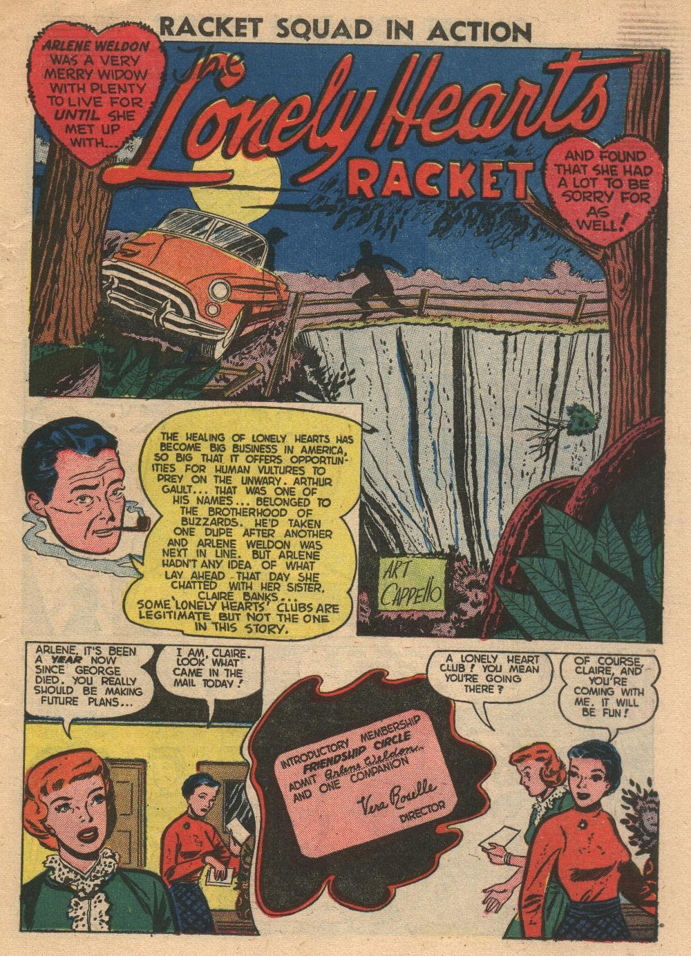 Read online Racket Squad in Action comic -  Issue #2 - 19