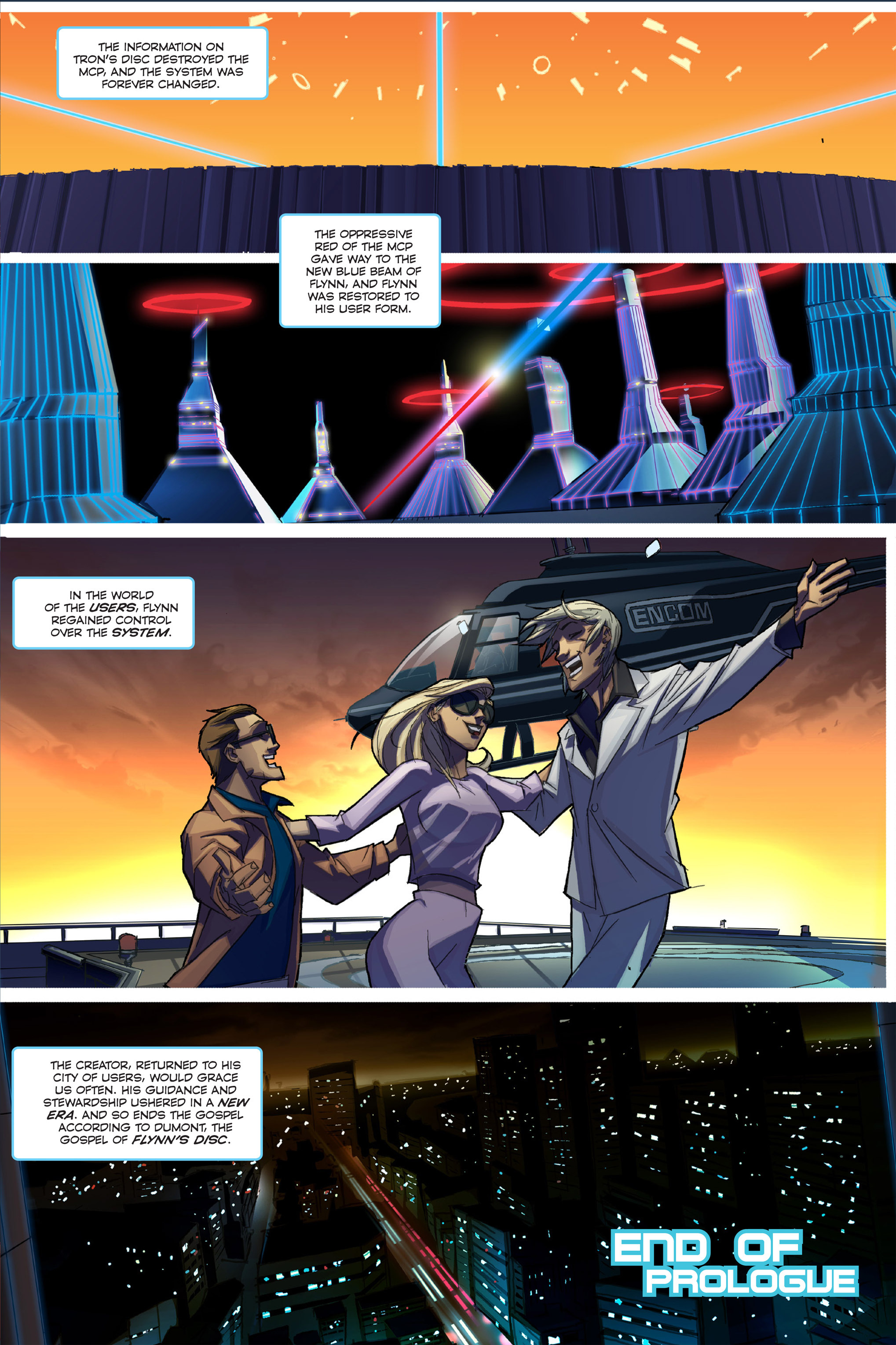 Read online TRON: Betrayal comic -  Issue # TPB - 12