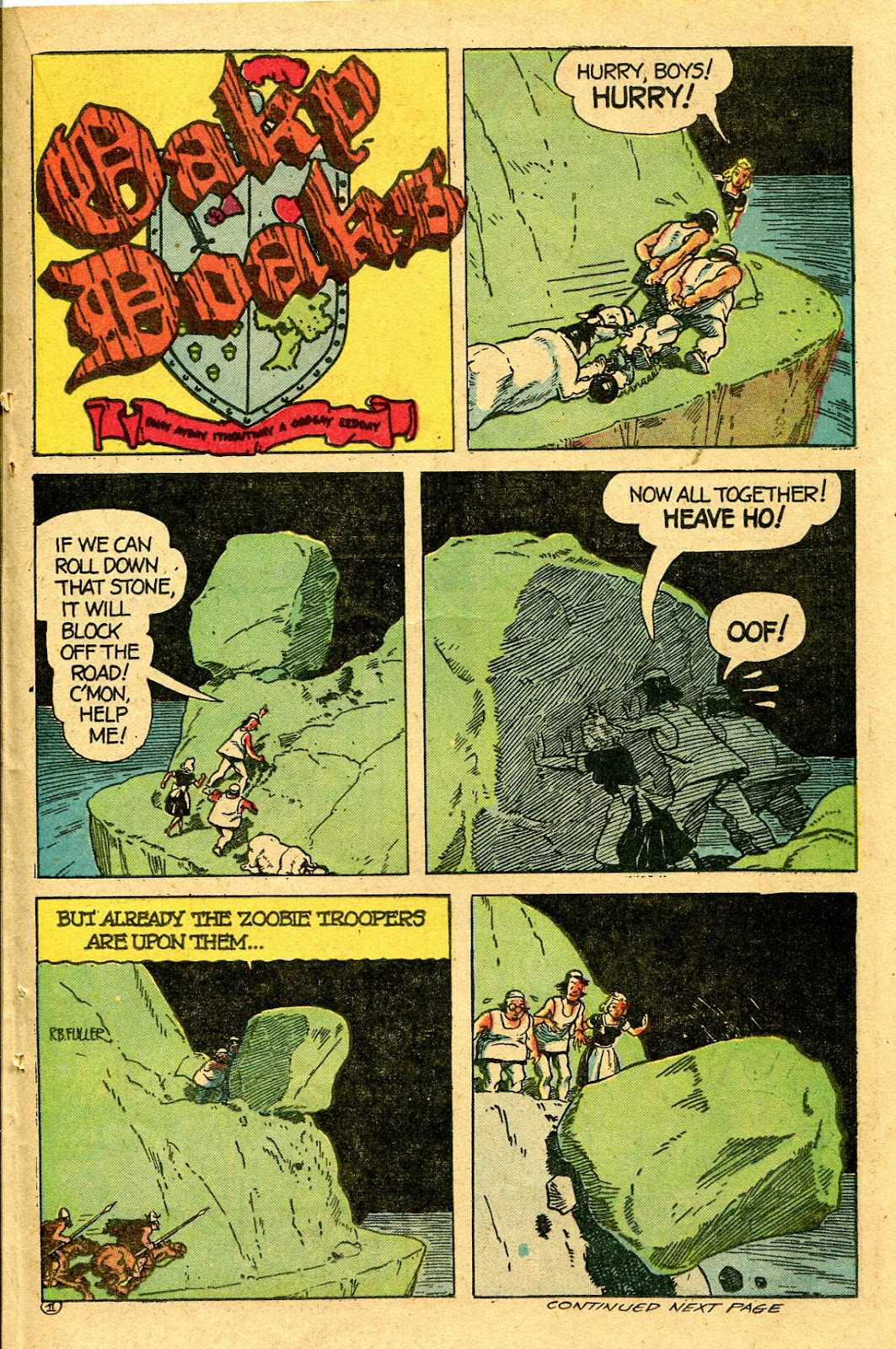 Read online Famous Funnies comic -  Issue #130 - 35