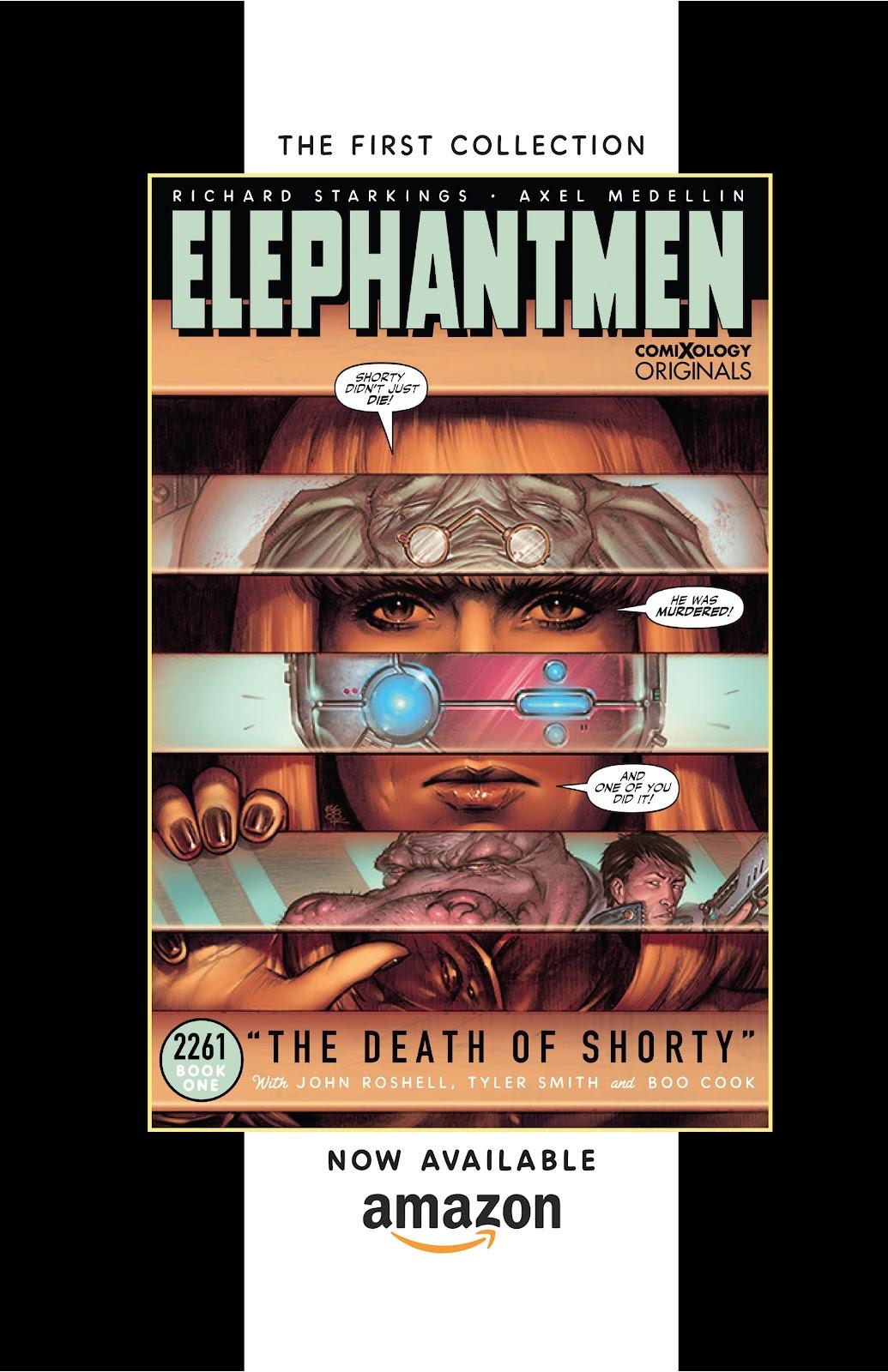 Read online Elephantmen 2261 Season Two: The Pentalion Job comic -  Issue # TPB - 127