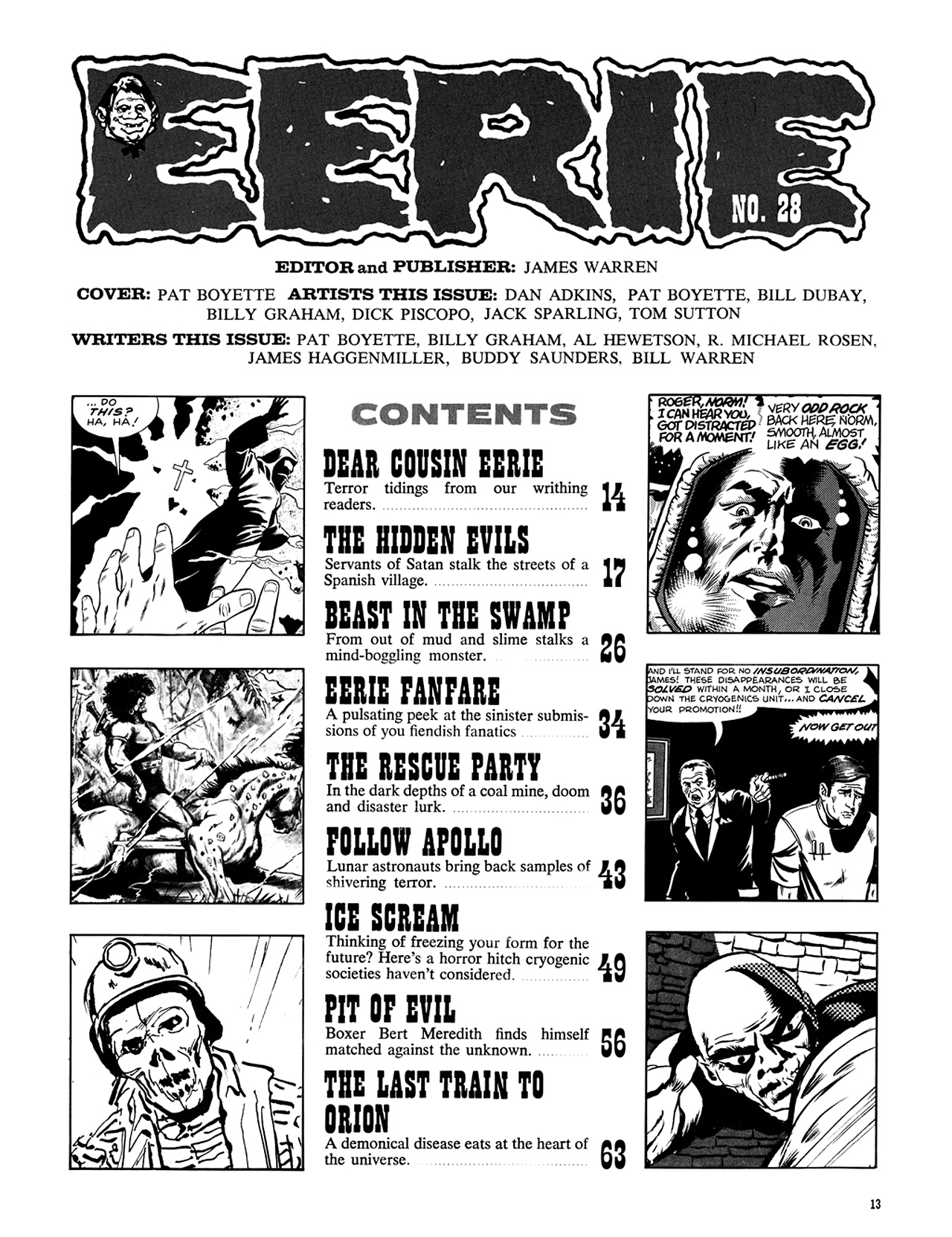 Read online Eerie Archives comic -  Issue # TPB 6 - 14