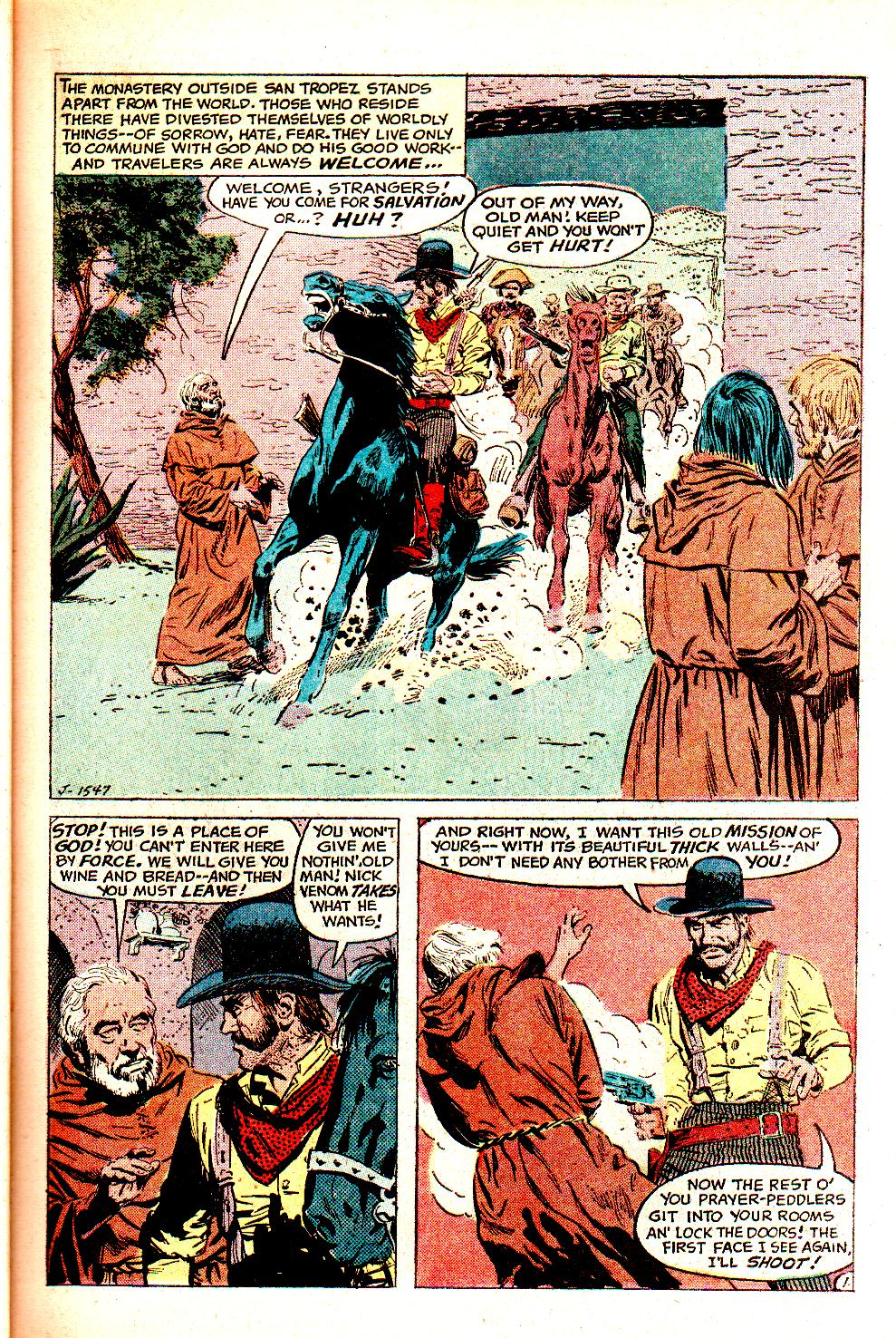 Read online All-Star Western (1970) comic -  Issue #11 - 21