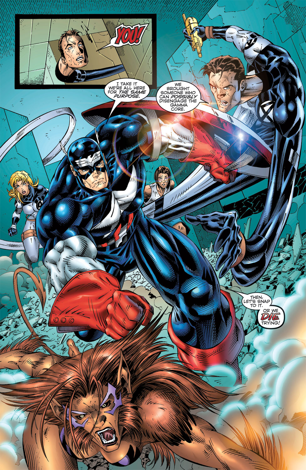 Read online Avengers (1996) comic -  Issue #6 - 19