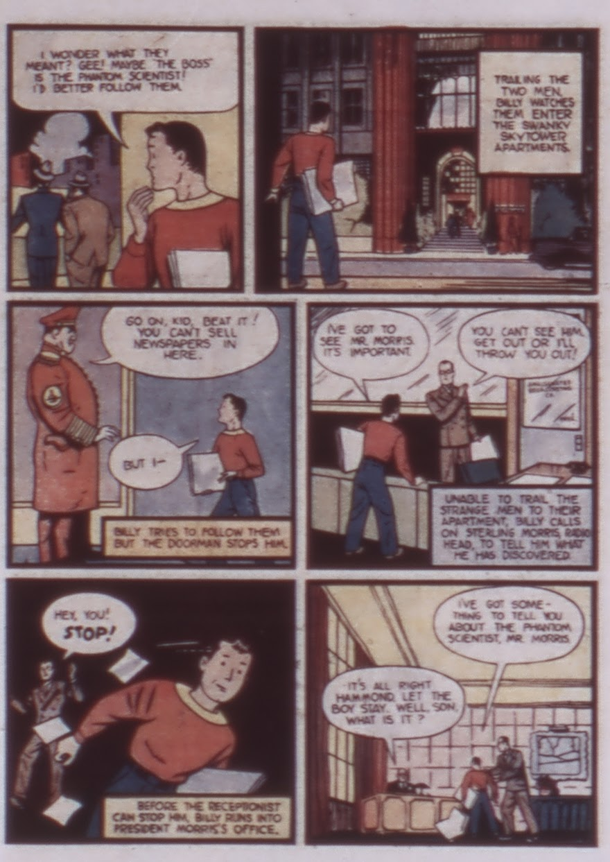 Read online WHIZ Comics comic -  Issue #1 - 9