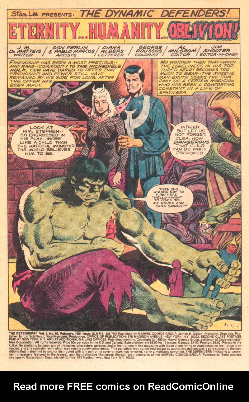 The Defenders (1972) 92 Page 2