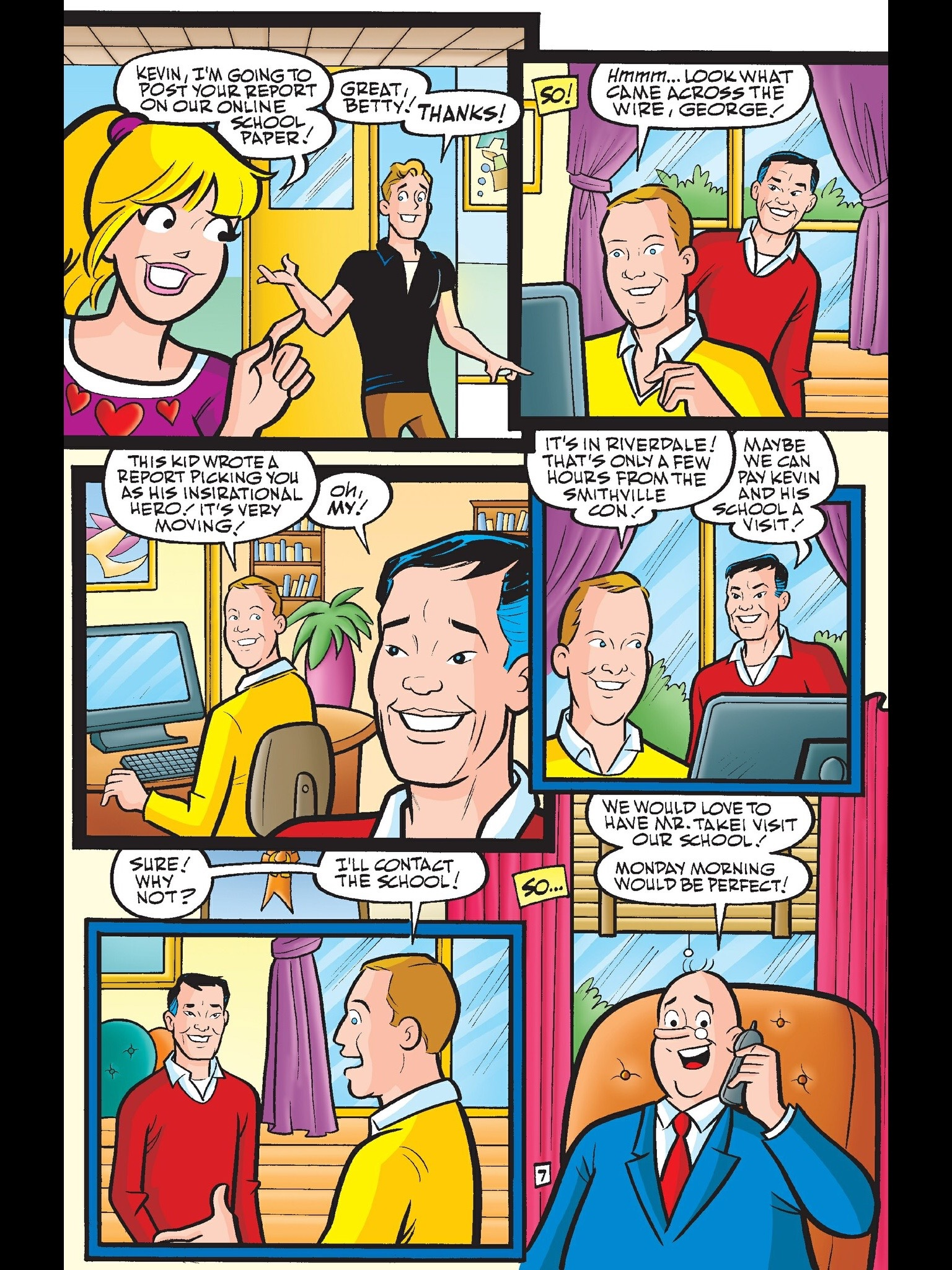 Read online Kevin Keller comic -  Issue #6 - 8