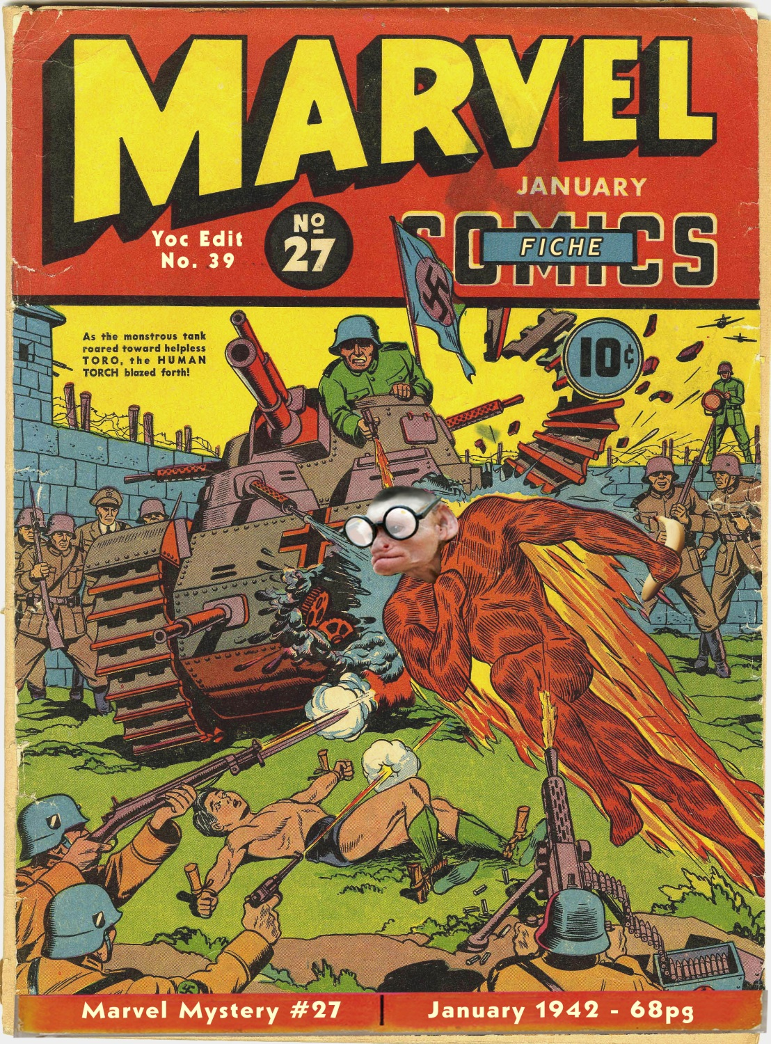 Marvel Mystery Comics 27 Page 1