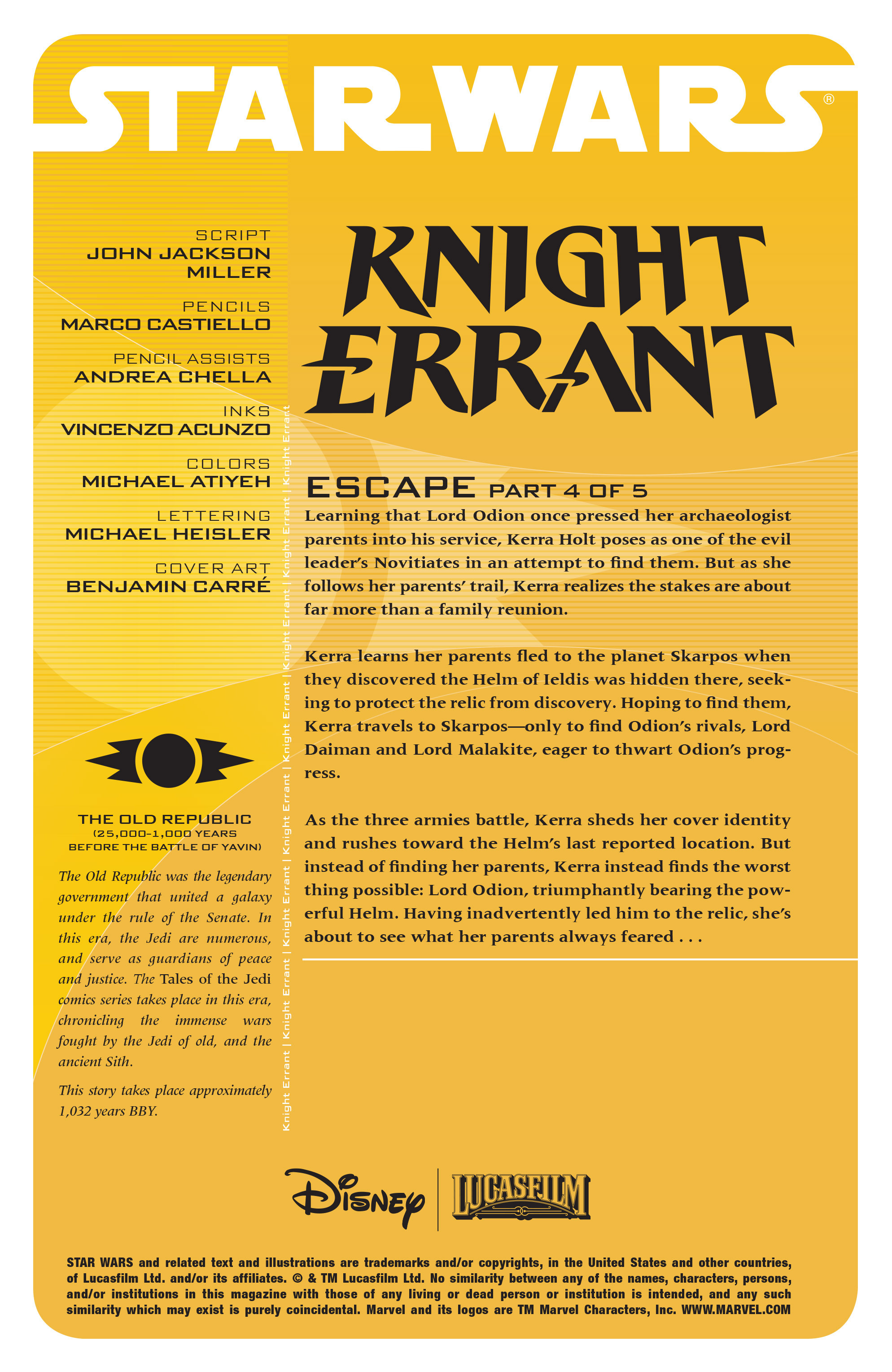 Read online Star Wars: Knight Errant - Escape comic -  Issue #4 - 2