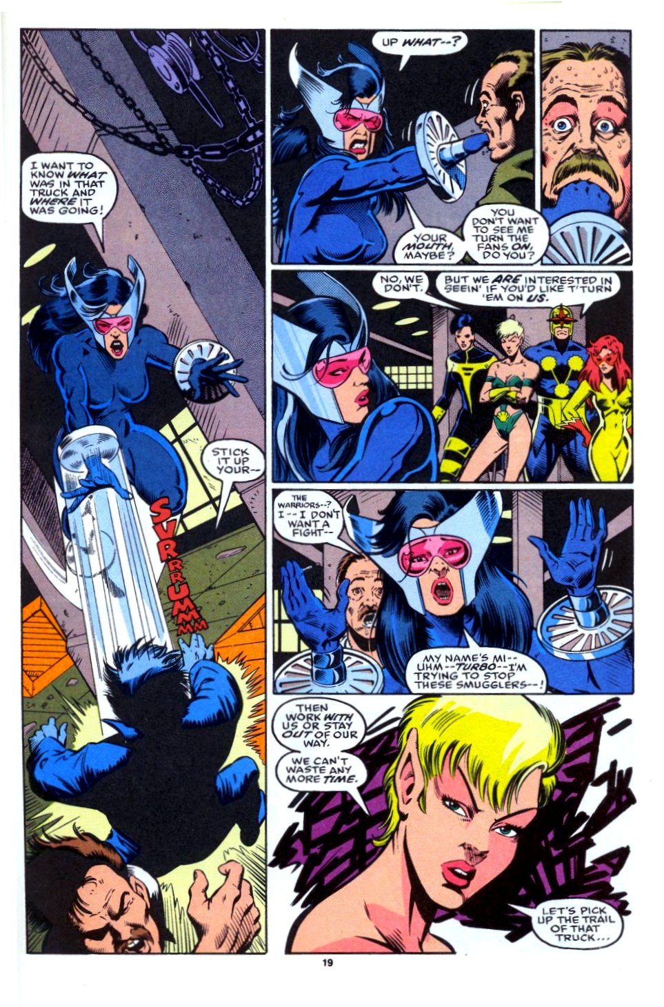 The New Warriors Issue #28 #32 - English 15