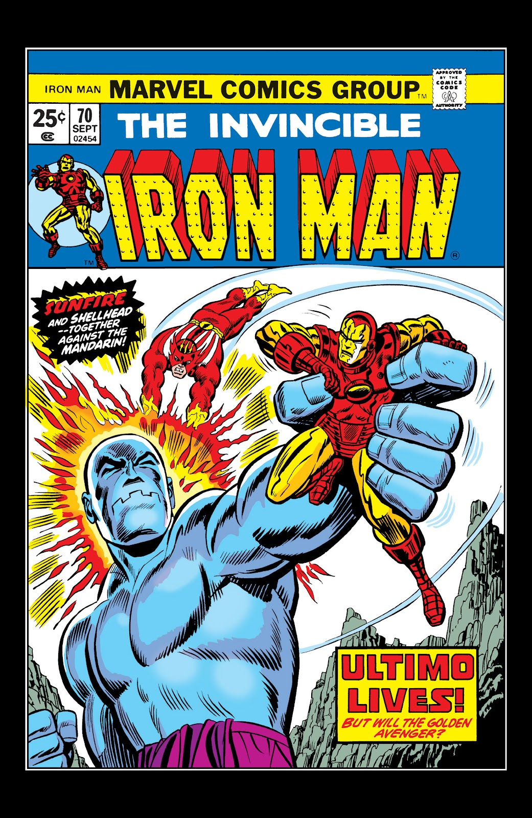 Read online Marvel Masterworks: The Invincible Iron Man comic -  Issue # TPB 10 (Part 1) - 44