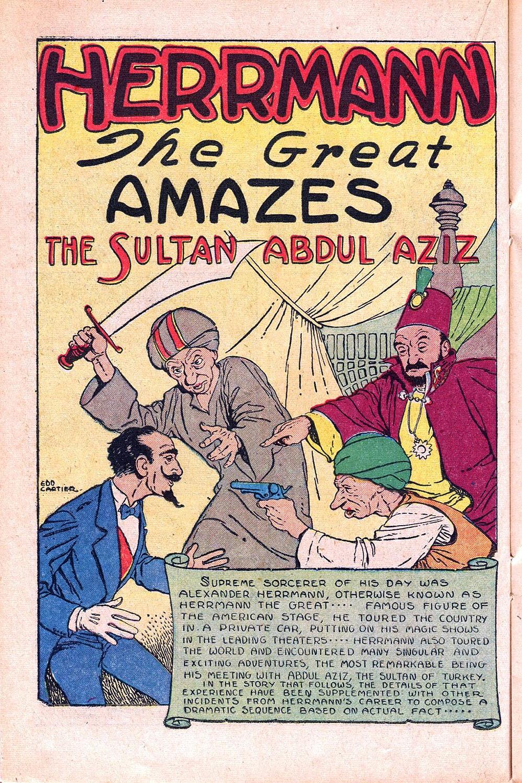 Read online Super-Magician Comics comic -  Issue #55 - 24