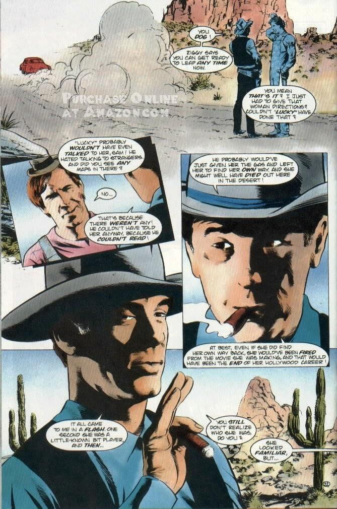 Read online Quantum Leap comic -  Issue #12 - 23