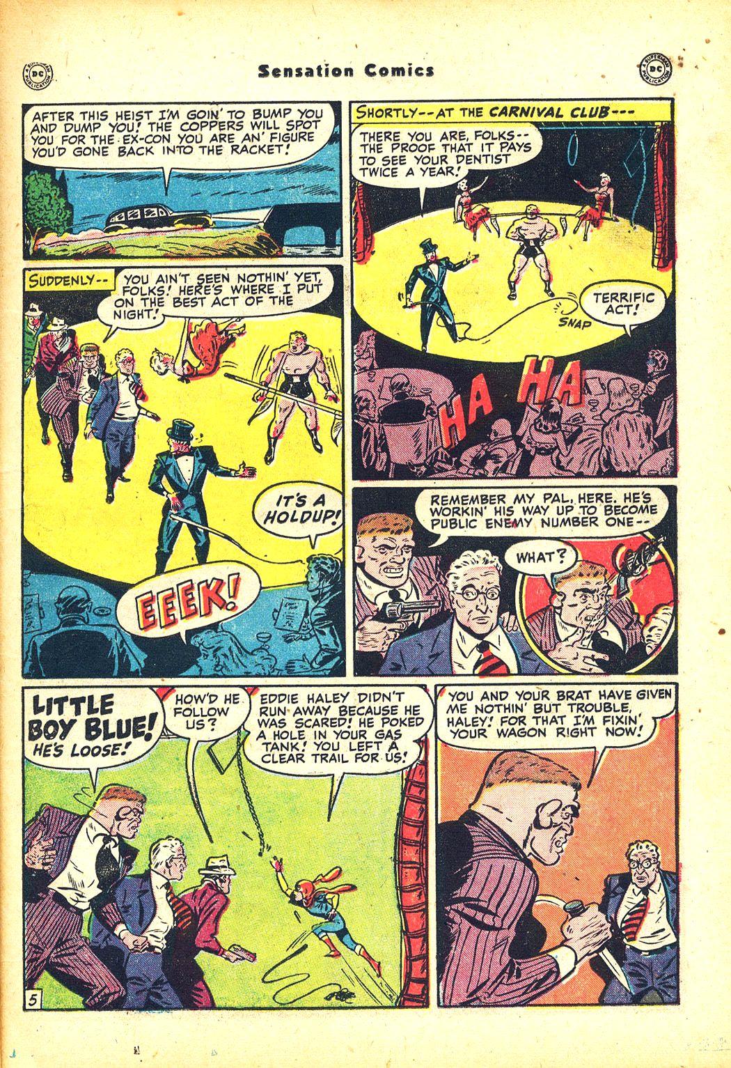 Read online Sensation (Mystery) Comics comic -  Issue #81 - 21