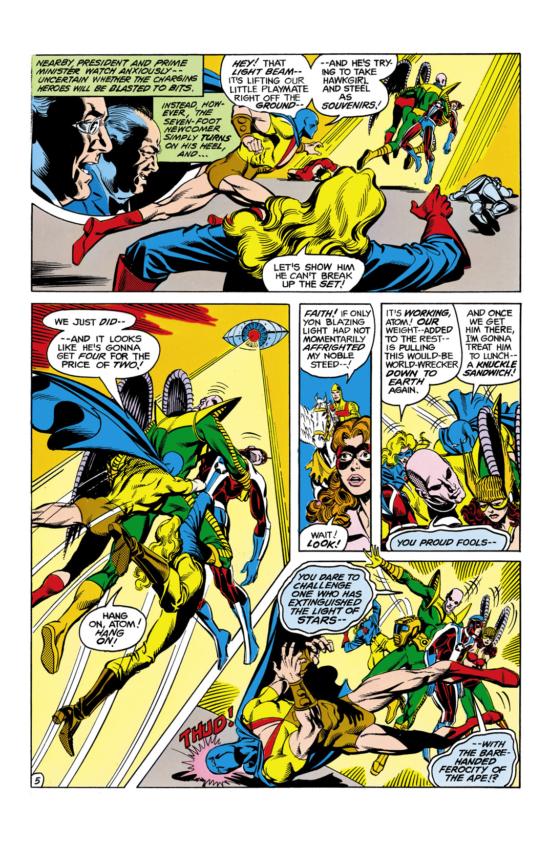 Read online All-Star Squadron comic -  Issue #11 - 6