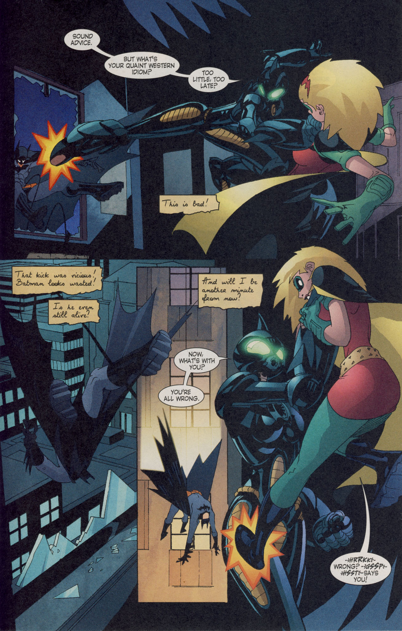 Read online Batman War Drums comic -  Issue # TPB - 226