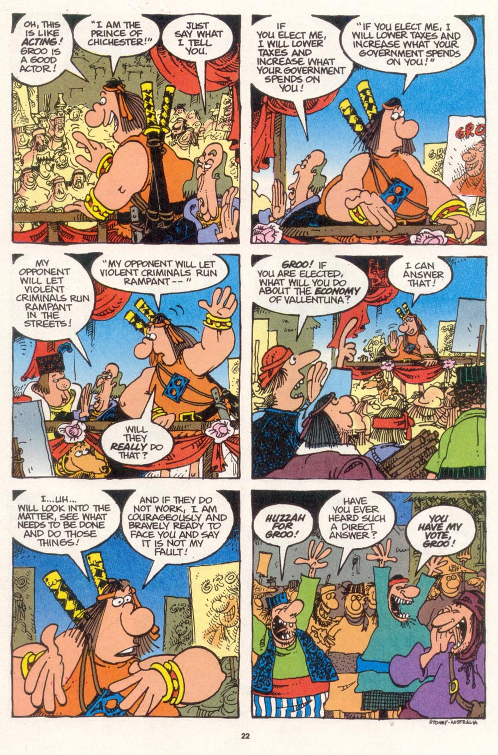 Read online Sergio Aragonés Groo the Wanderer comic -  Issue #108 - 24