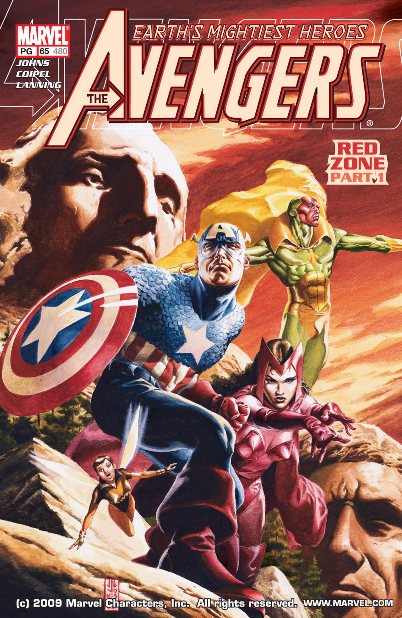 Read online Avengers (1998) comic -  Issue #65 - 1