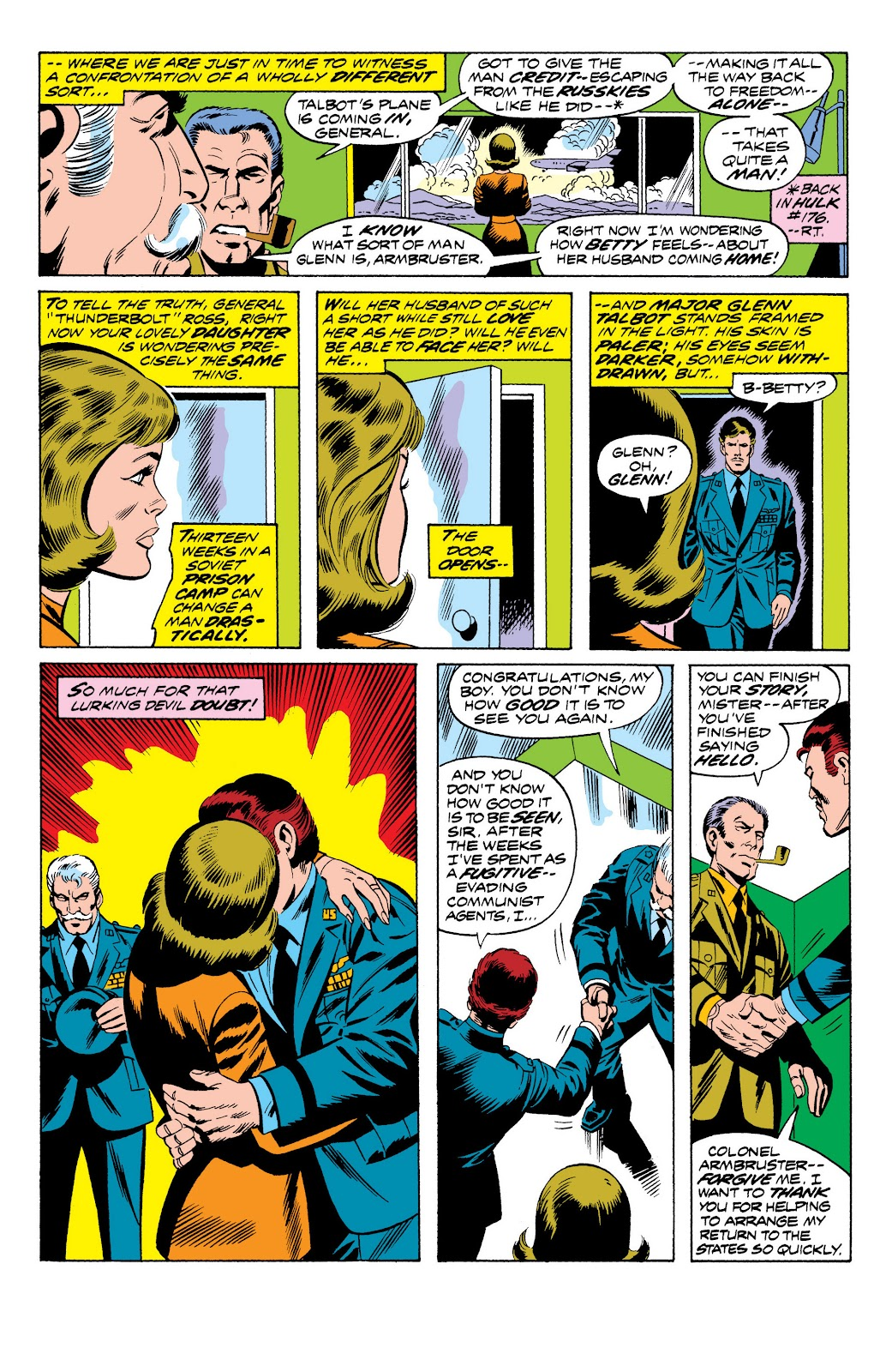 Read online Marvel Masterworks: The Incredible Hulk comic -  Issue # TPB 10 (Part 2) - 76