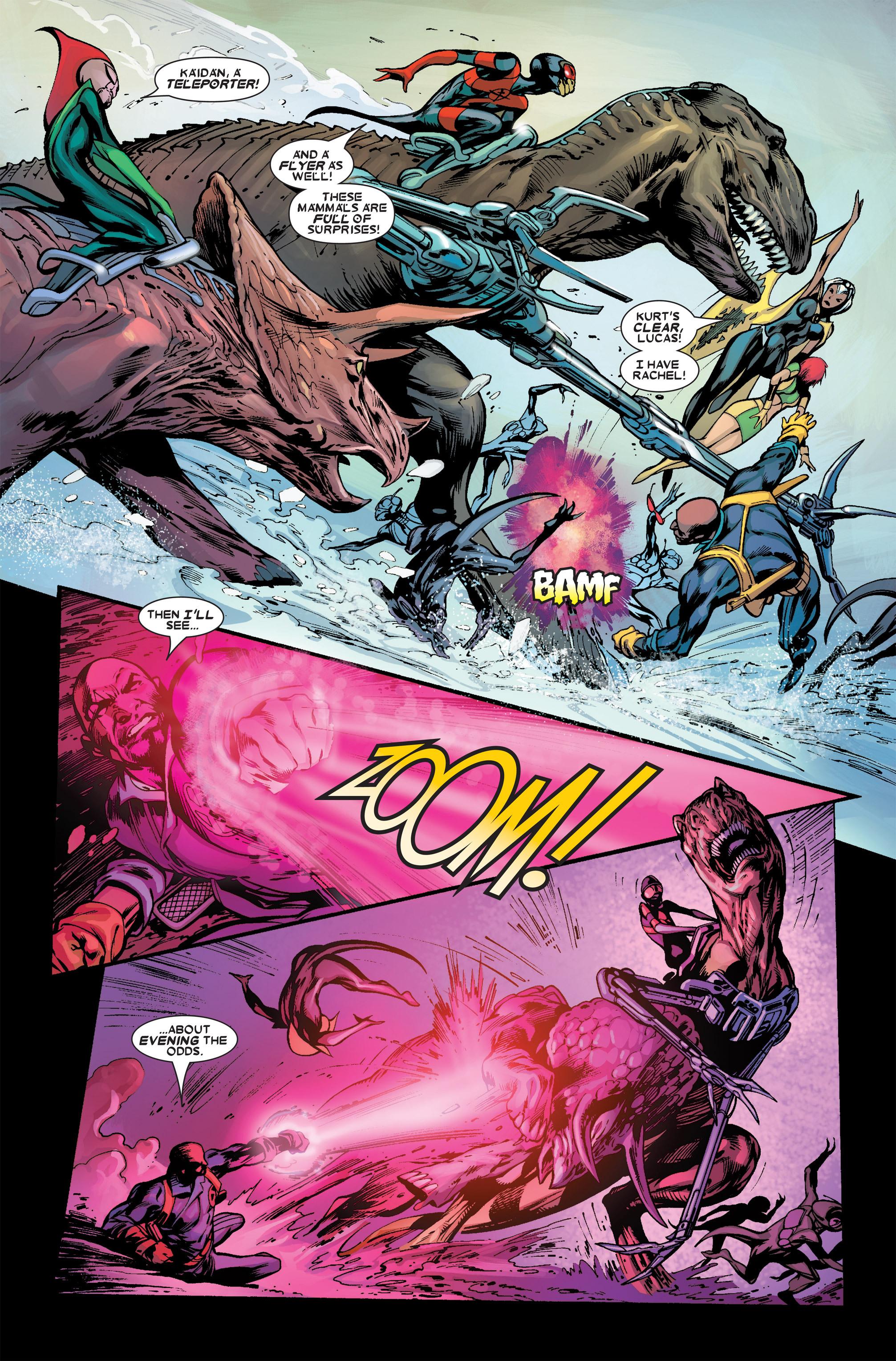 Read online Uncanny X-Men (1963) comic -  Issue #456 - 12