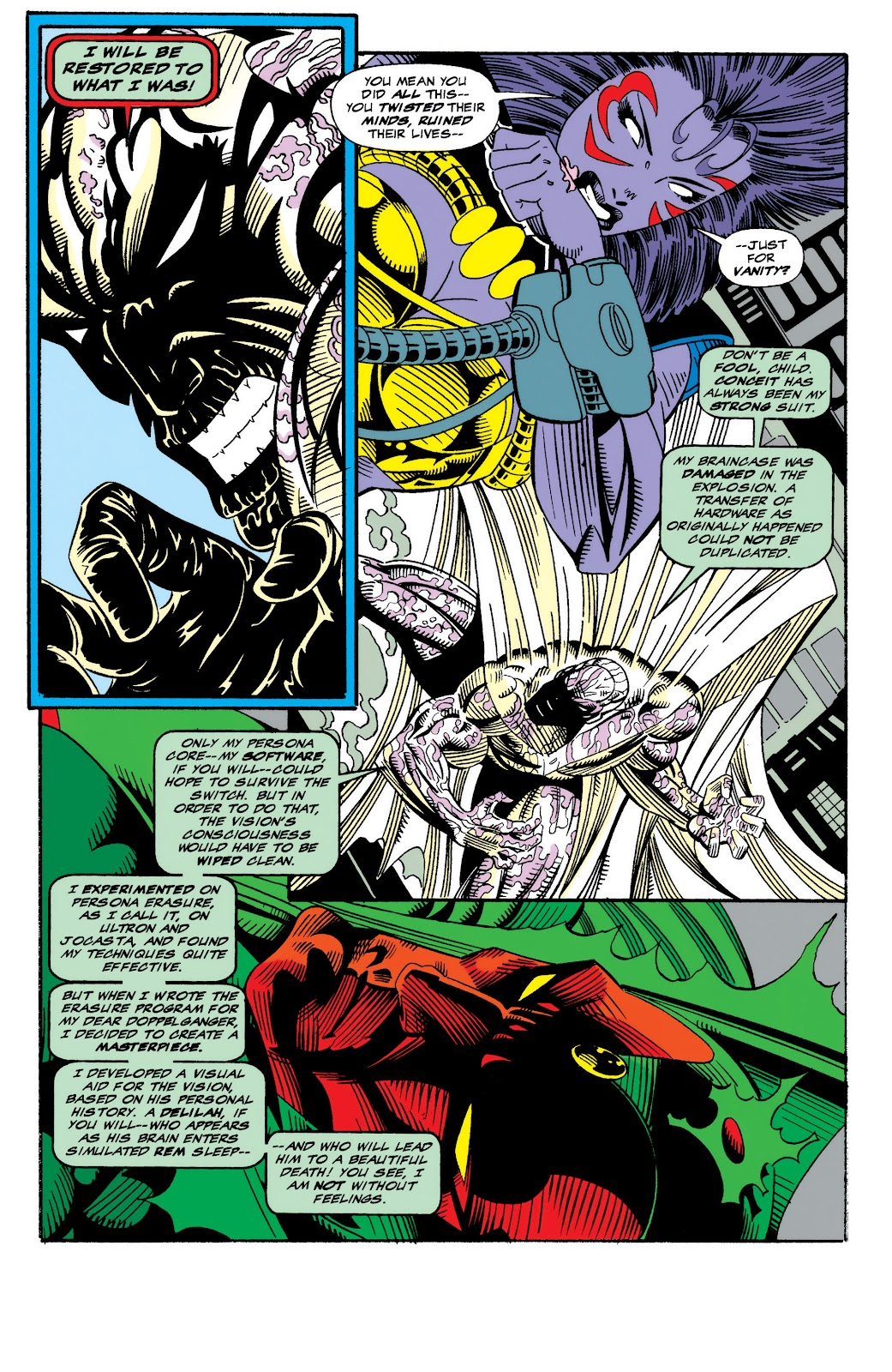 Read online The Vision comic -  Issue #4 - 6