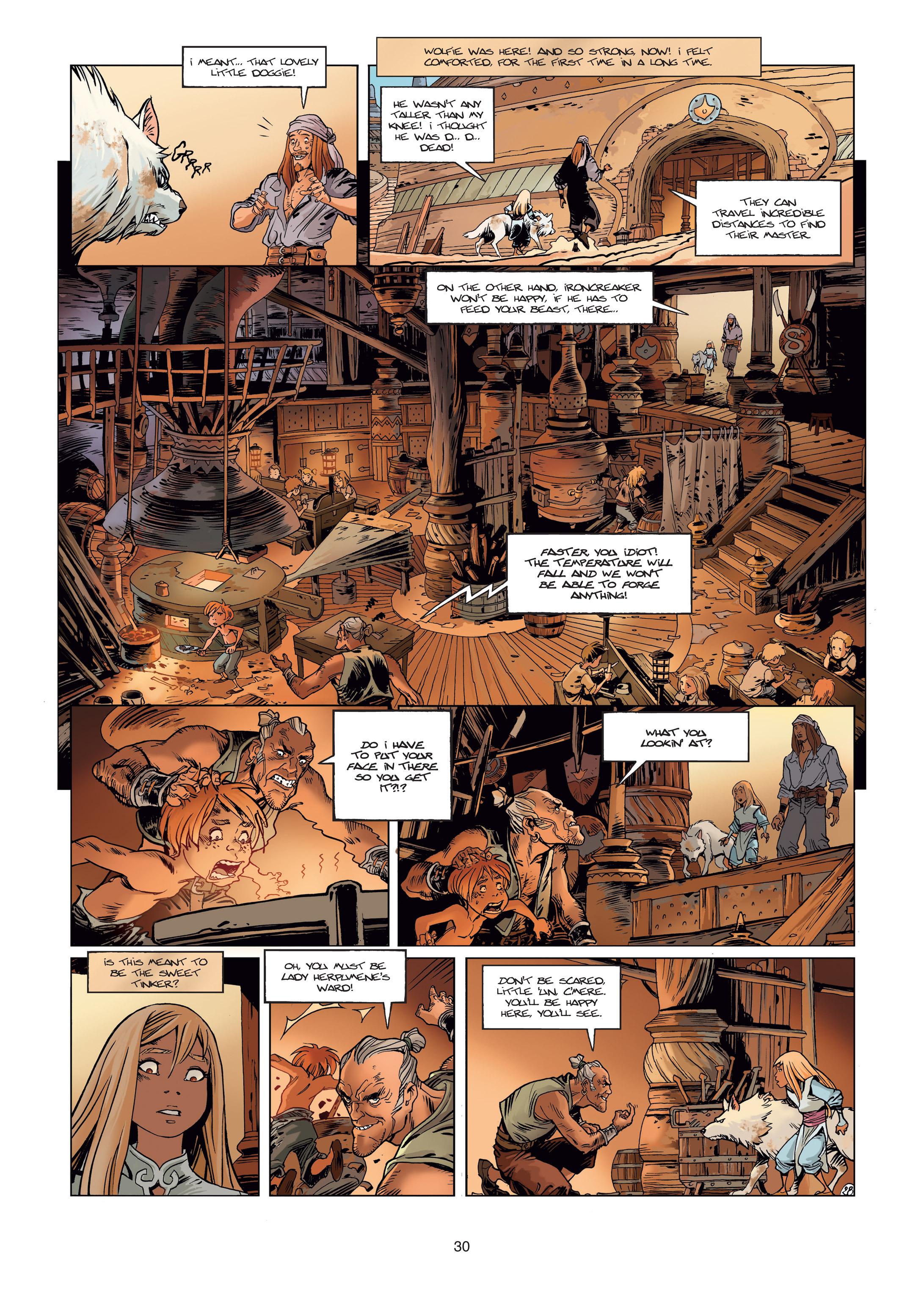 Read online Sangre Vol. 1: Sangre the Survivor comic -  Issue # Full - 30