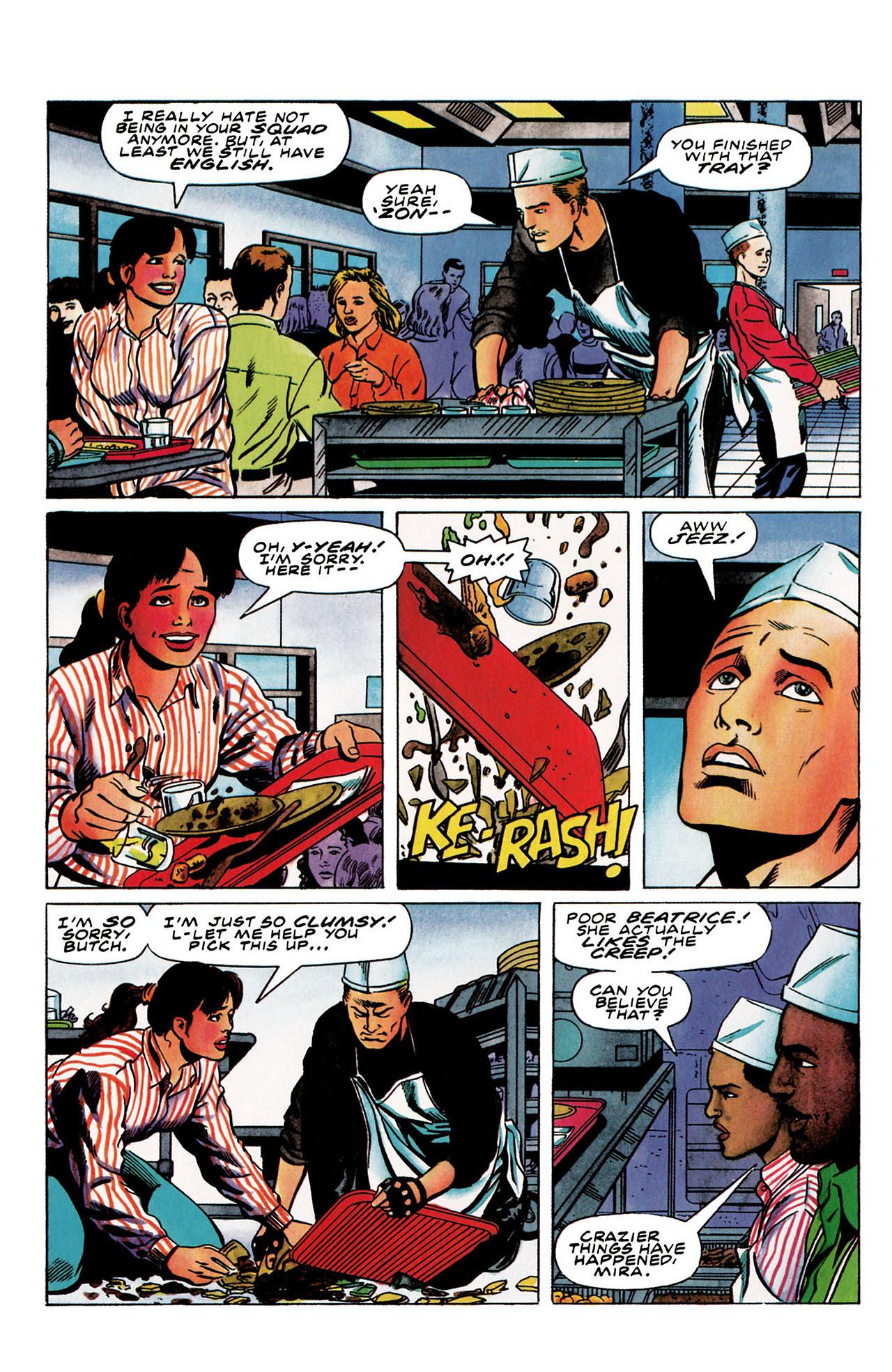 Read online Harbinger (1992) comic -  Issue #30 - 6