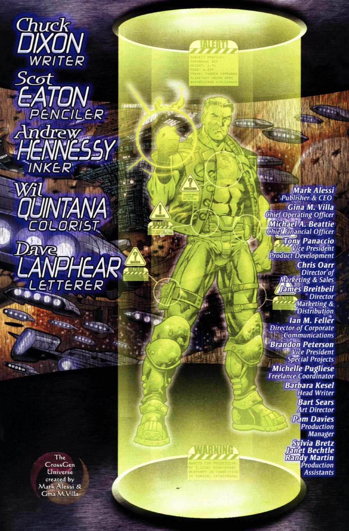 Read online Sigil (2000) comic -  Issue #22 - 29