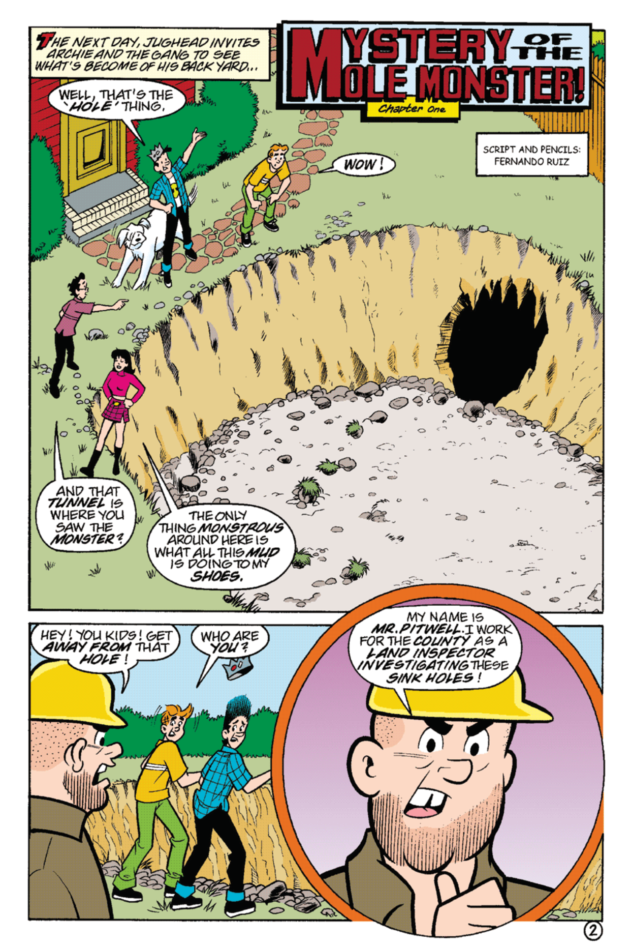 Read online Archie's Weird Mysteries comic -  Issue #22 - 16