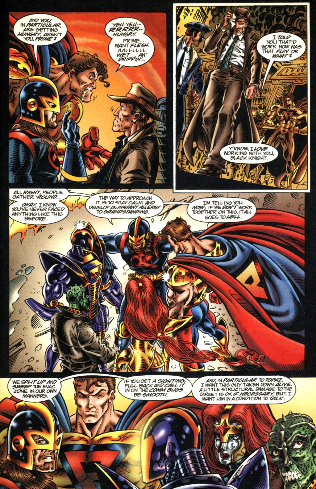 Read online UltraForce (1995) comic -  Issue #2 - 12