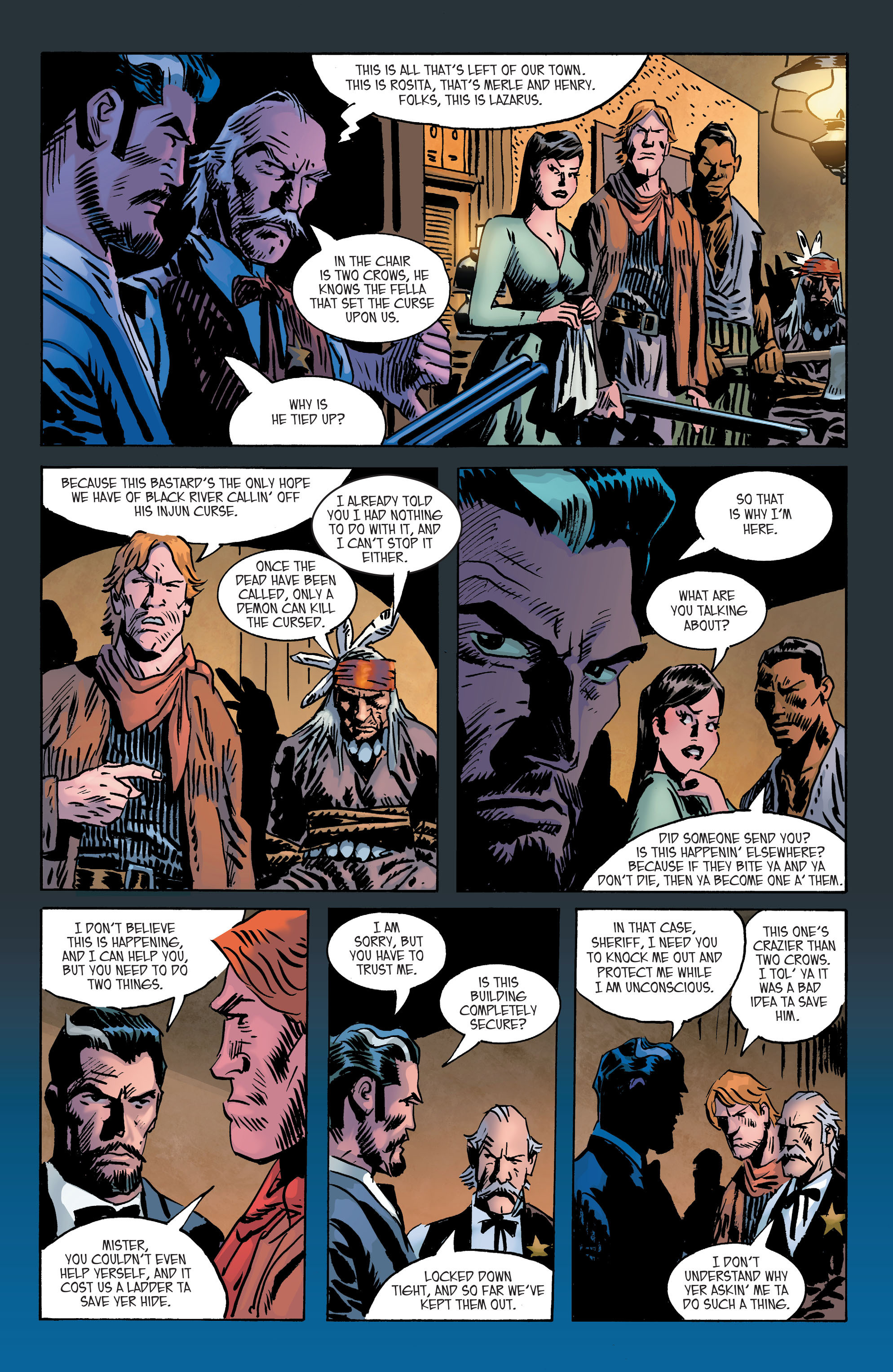 Read online All-Star Western (2011) comic -  Issue #2 - 25
