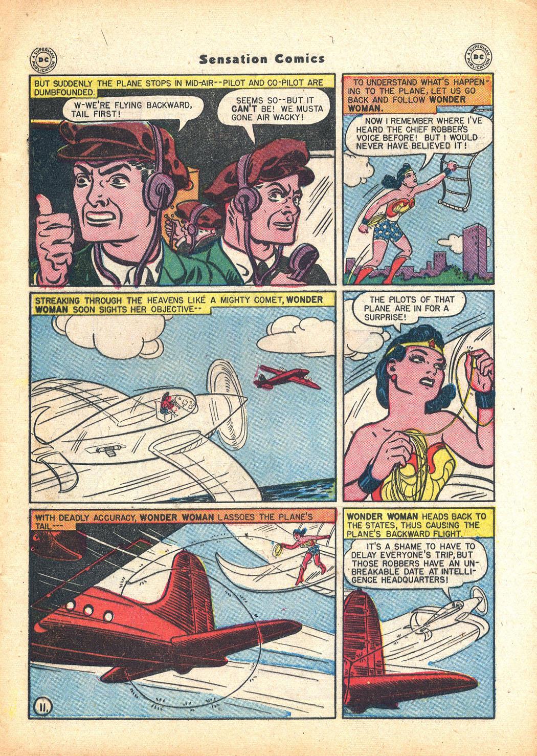 Read online Sensation (Mystery) Comics comic -  Issue #63 - 13
