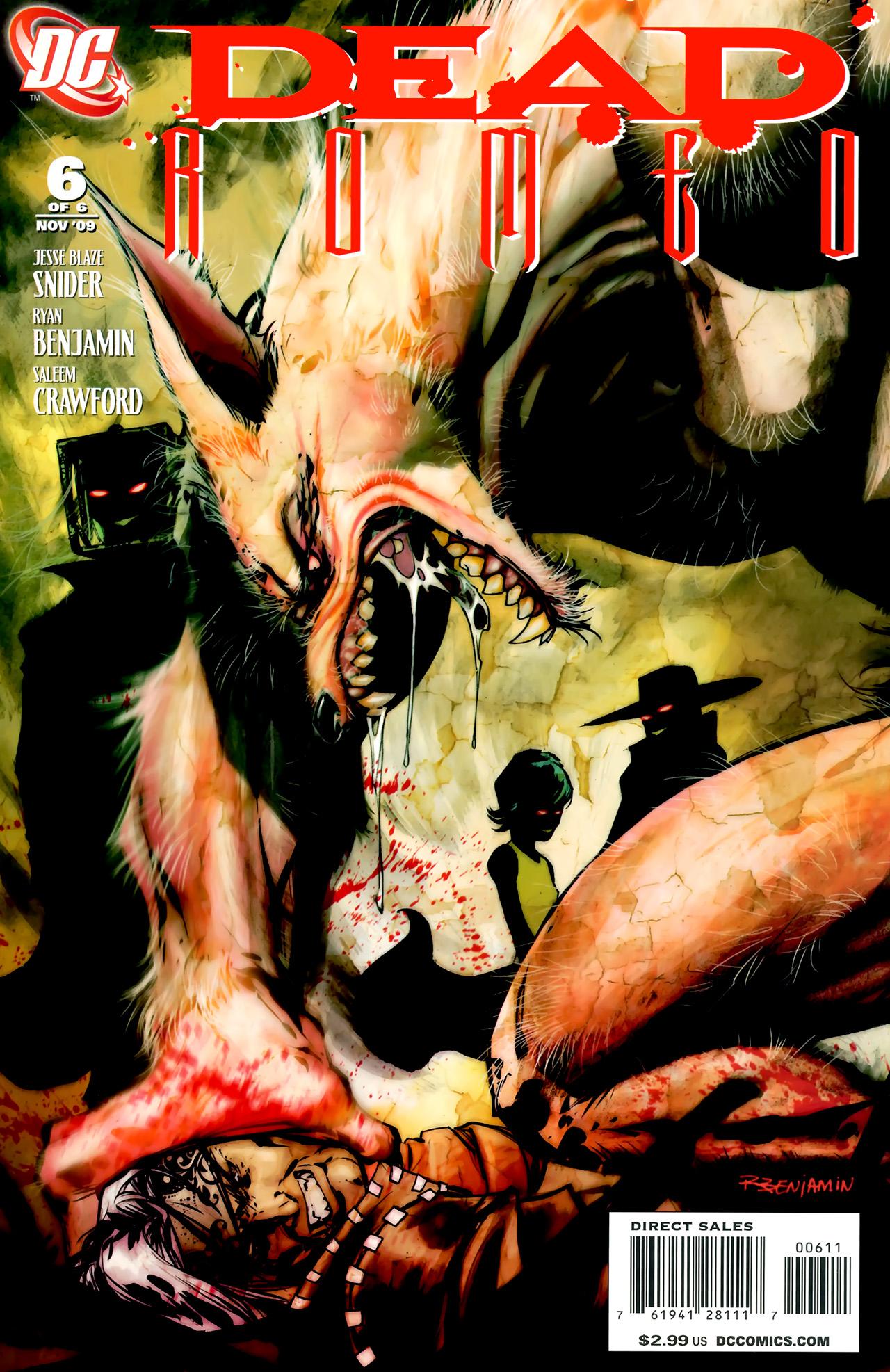 Read online Dead Romeo comic -  Issue #6 - 1