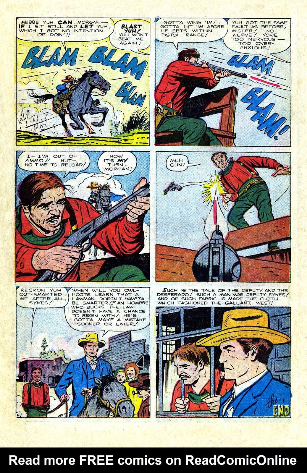 Gunsmoke Western issue 75 - Page 18
