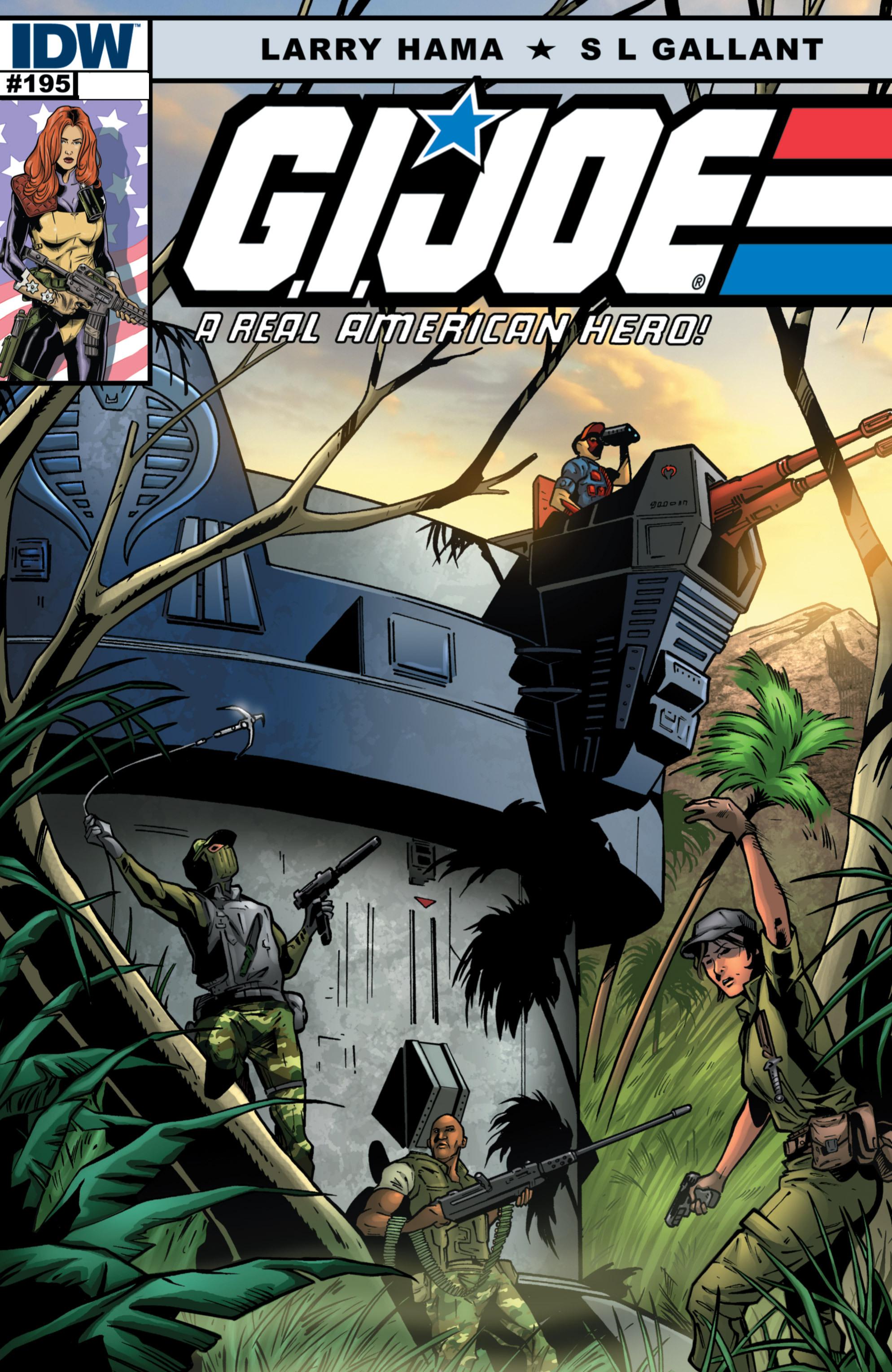 G.I. Joe: A Real American Hero 195 Page 0