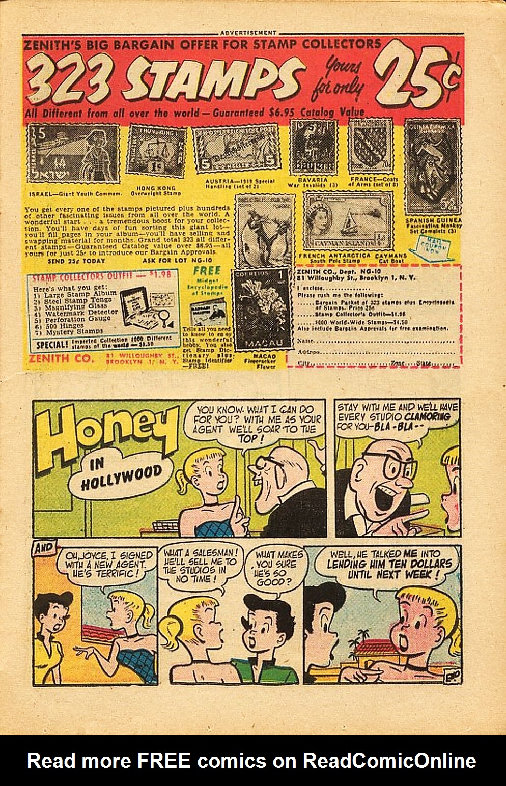 The Adventures of Bob Hope issue 42 - Page 21