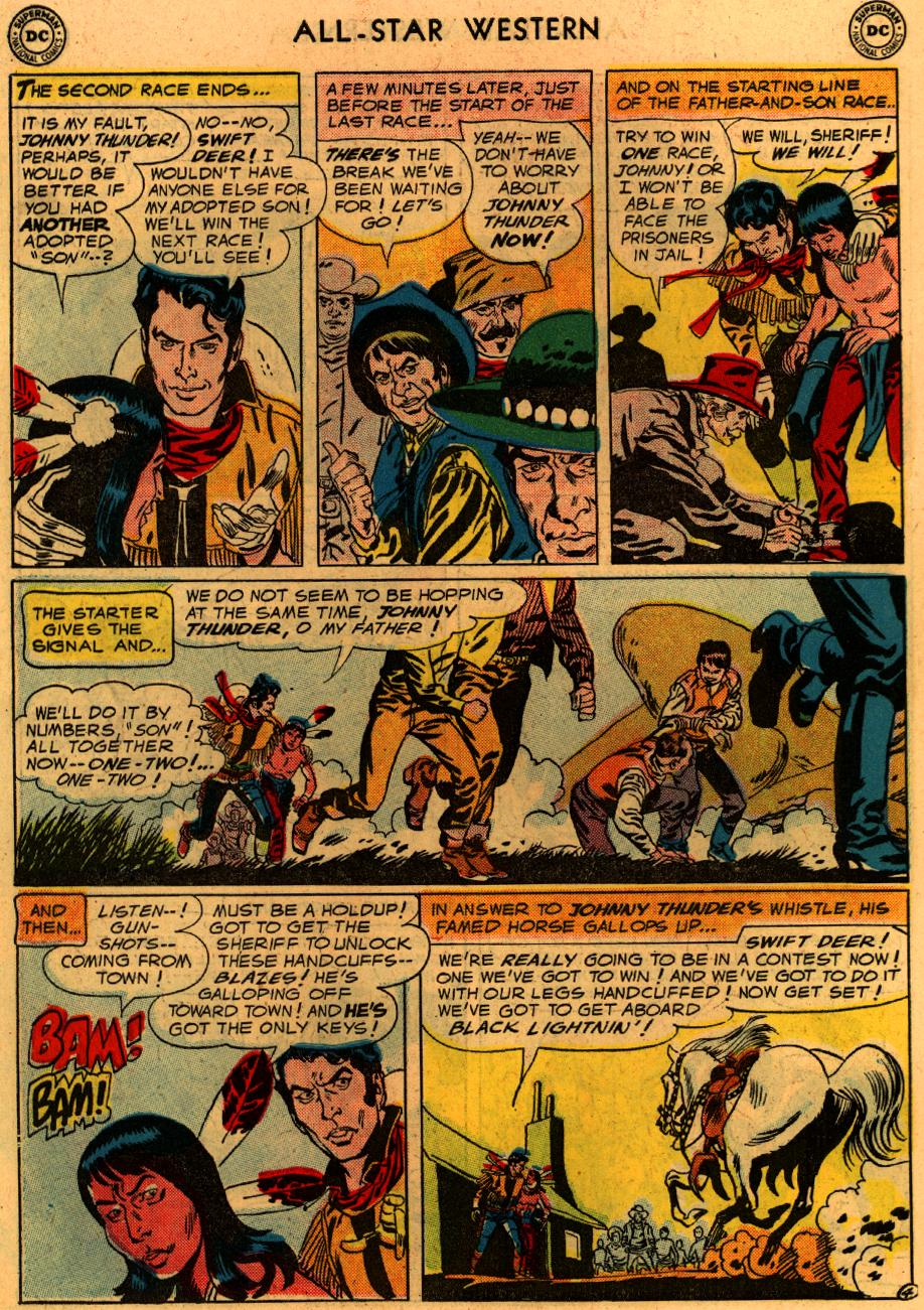 Read online All-Star Western (1951) comic -  Issue #94 - 31