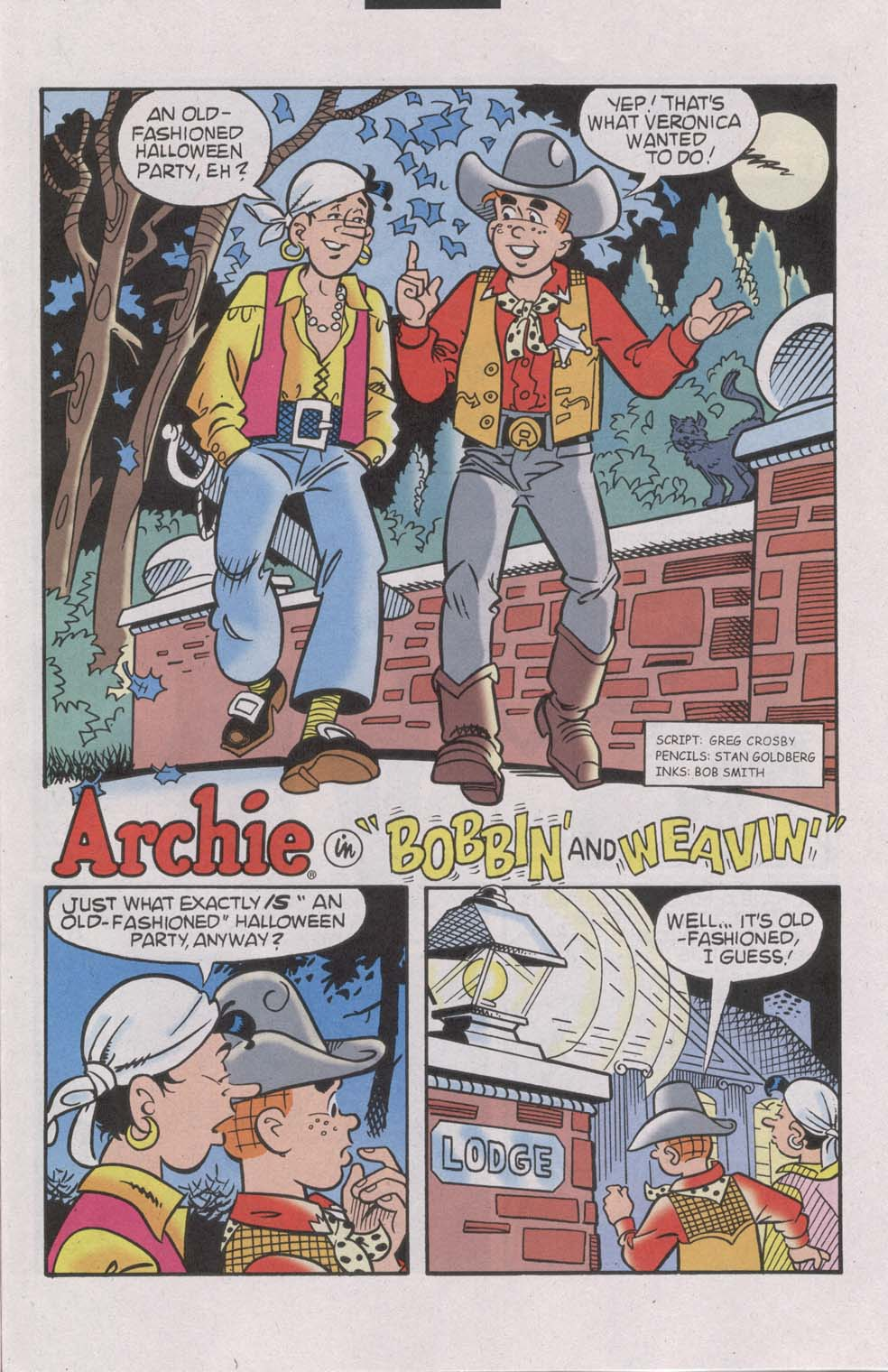 Read online Archie (1960) comic -  Issue #541 - 29