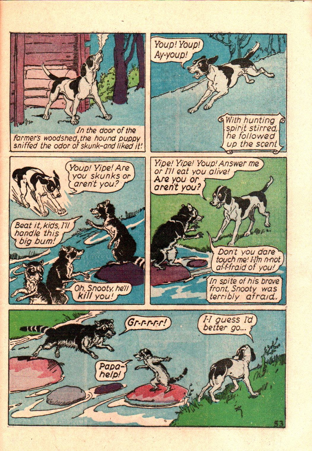 Read online Animal Comics comic -  Issue #3 - 55
