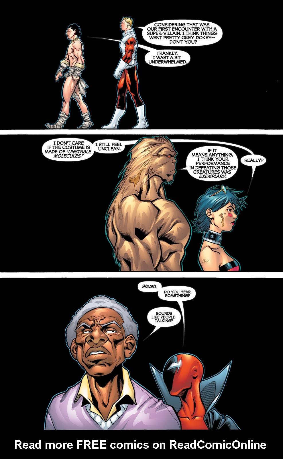 Read online Alpha Flight (2004) comic -  Issue #4 - 21